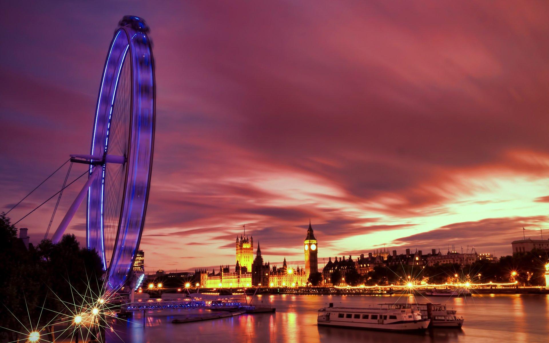 Обои london, Sunset. Города foto 11
