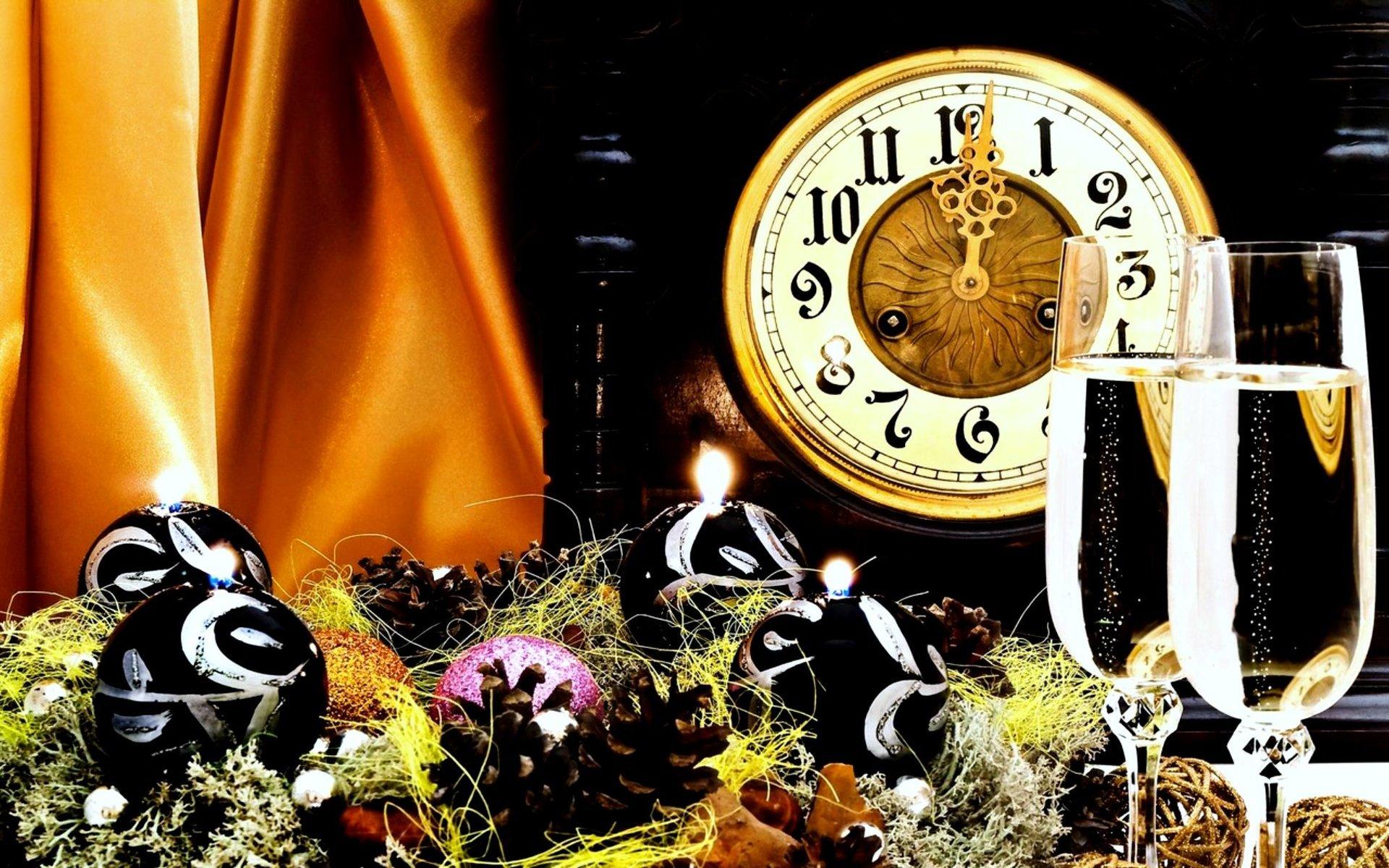 часы салют новый год без смс
