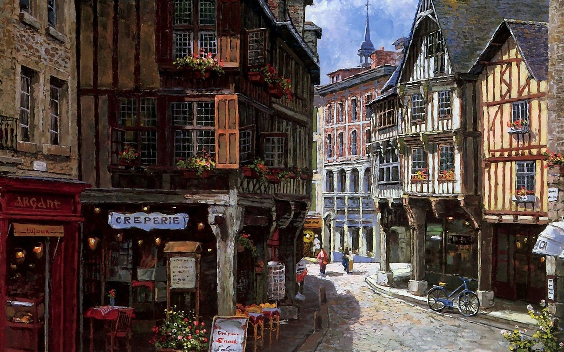 картинки старых улочек европы квартиру новостройке теперь