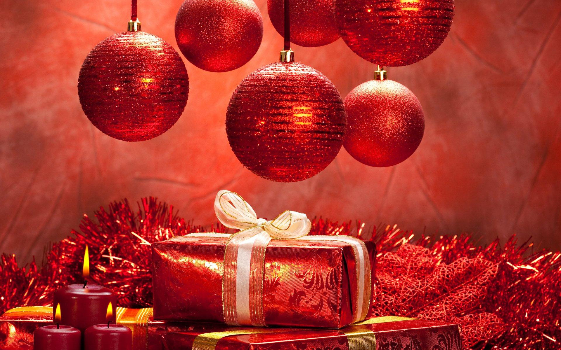 Открытку днем, новогодние картинки в красном цвете высокого разрешения
