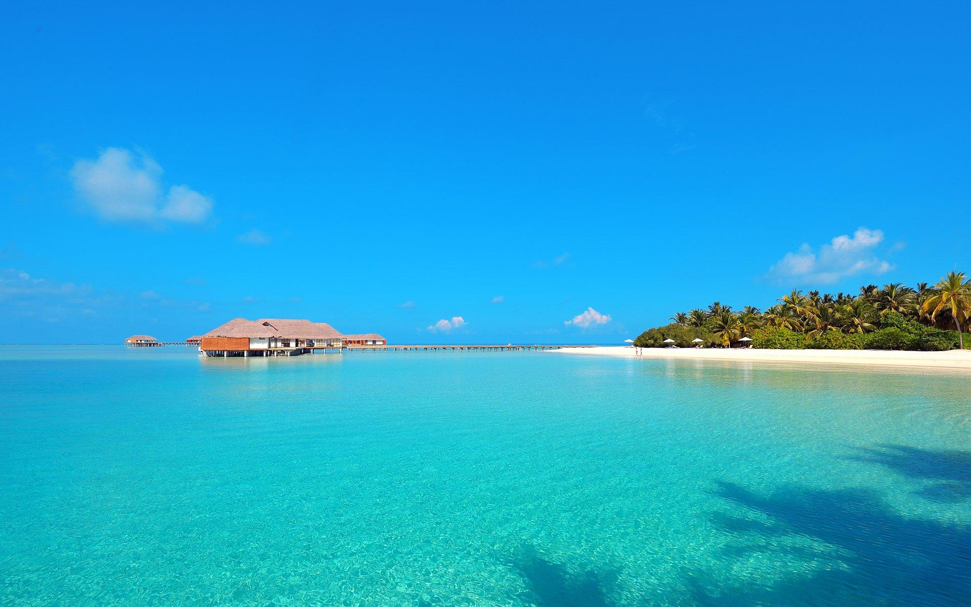 Мальдивы картинка обои