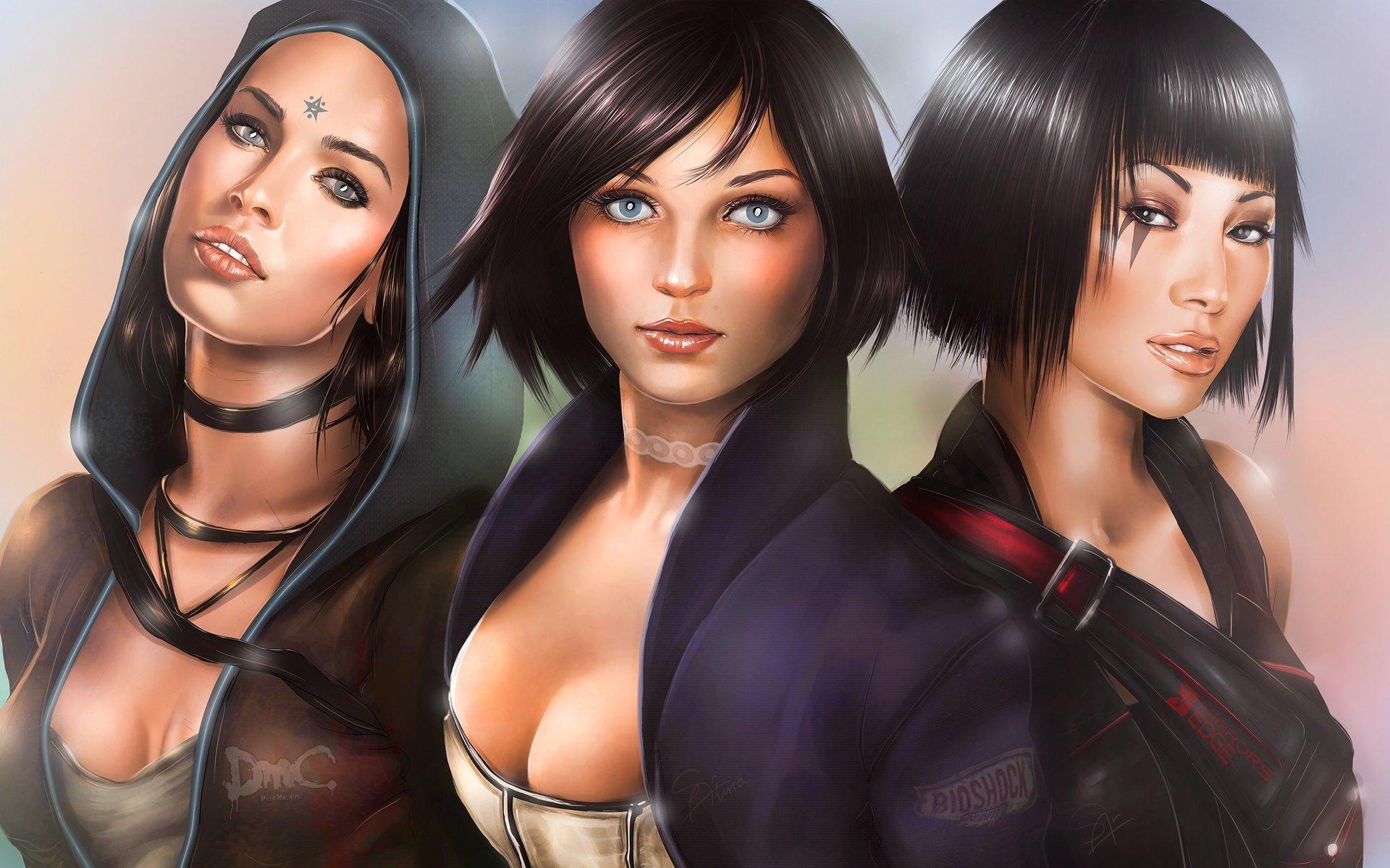 самые сексуальные героини игр
