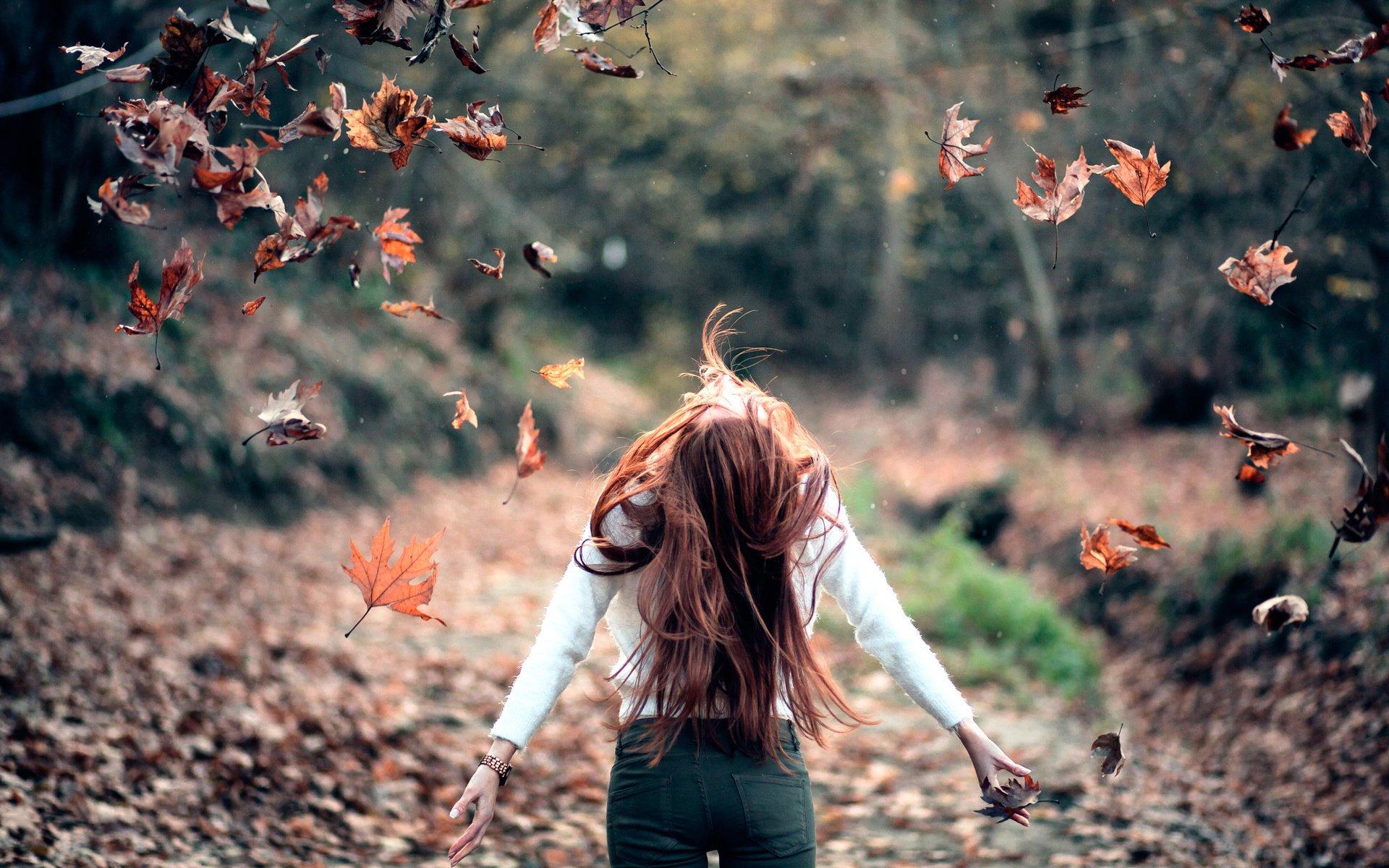 6e7e5fb8456 Осень Фото Девушки Со Спины На Аву