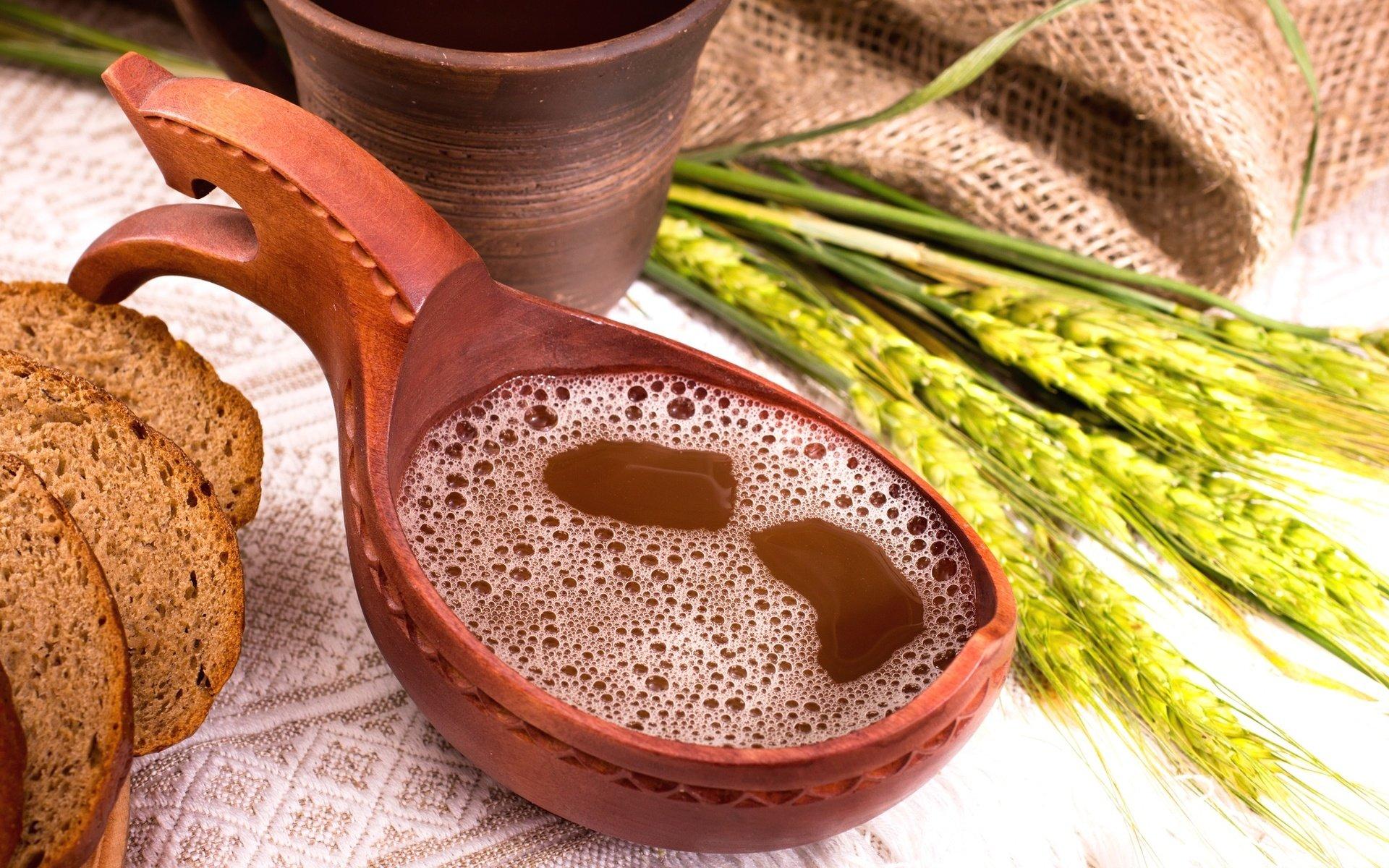 Рецепты домашнего кваса с квасным суслом