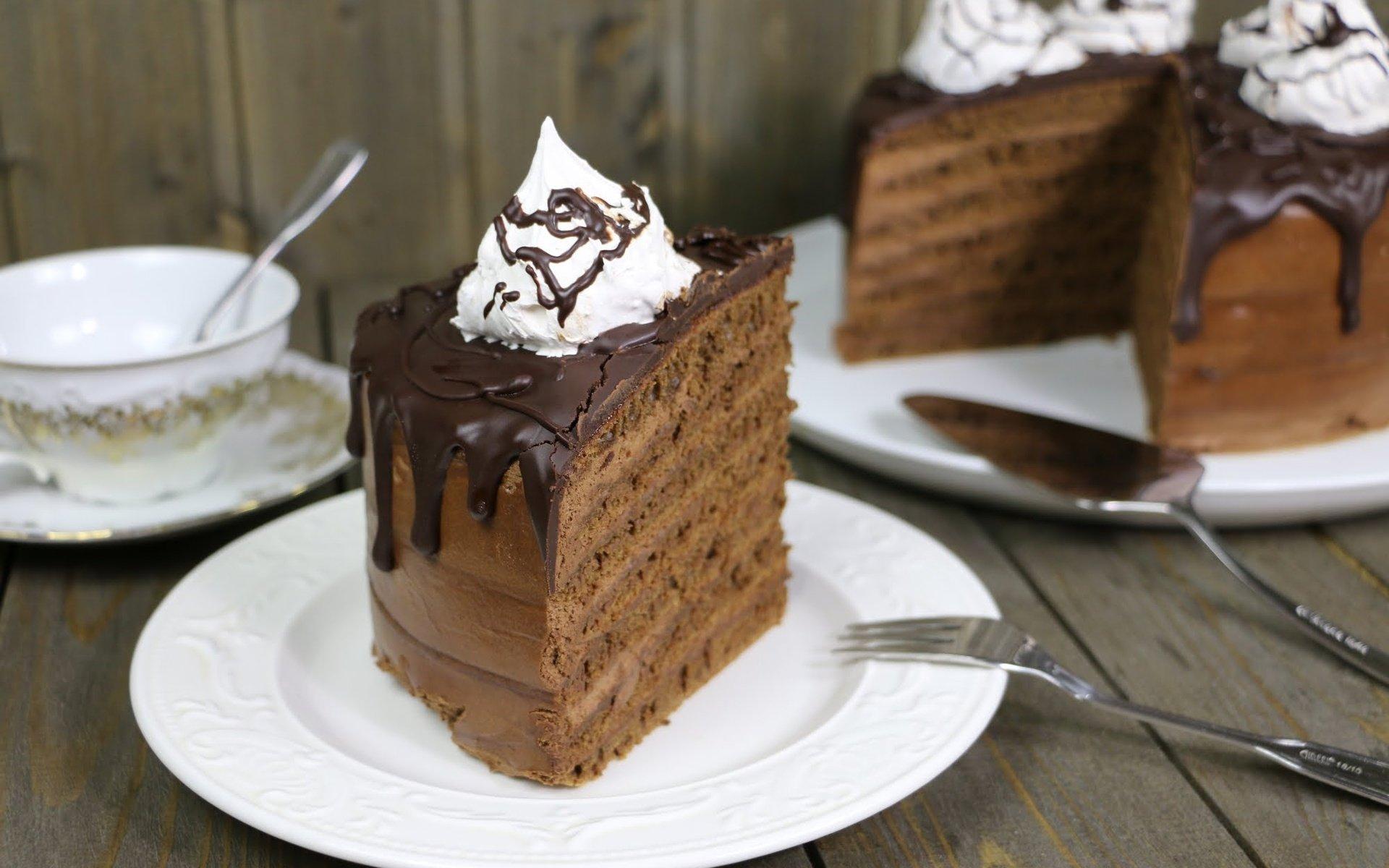 Как сделать торт без духовки шоколадный