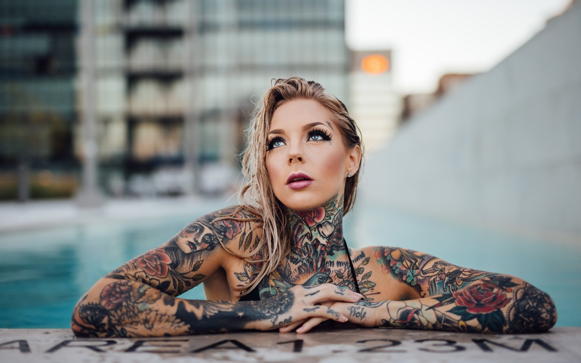Sexy Tattooed Women Stock Photos and Pictures Getty Images Pictures of beautiful tattooed women