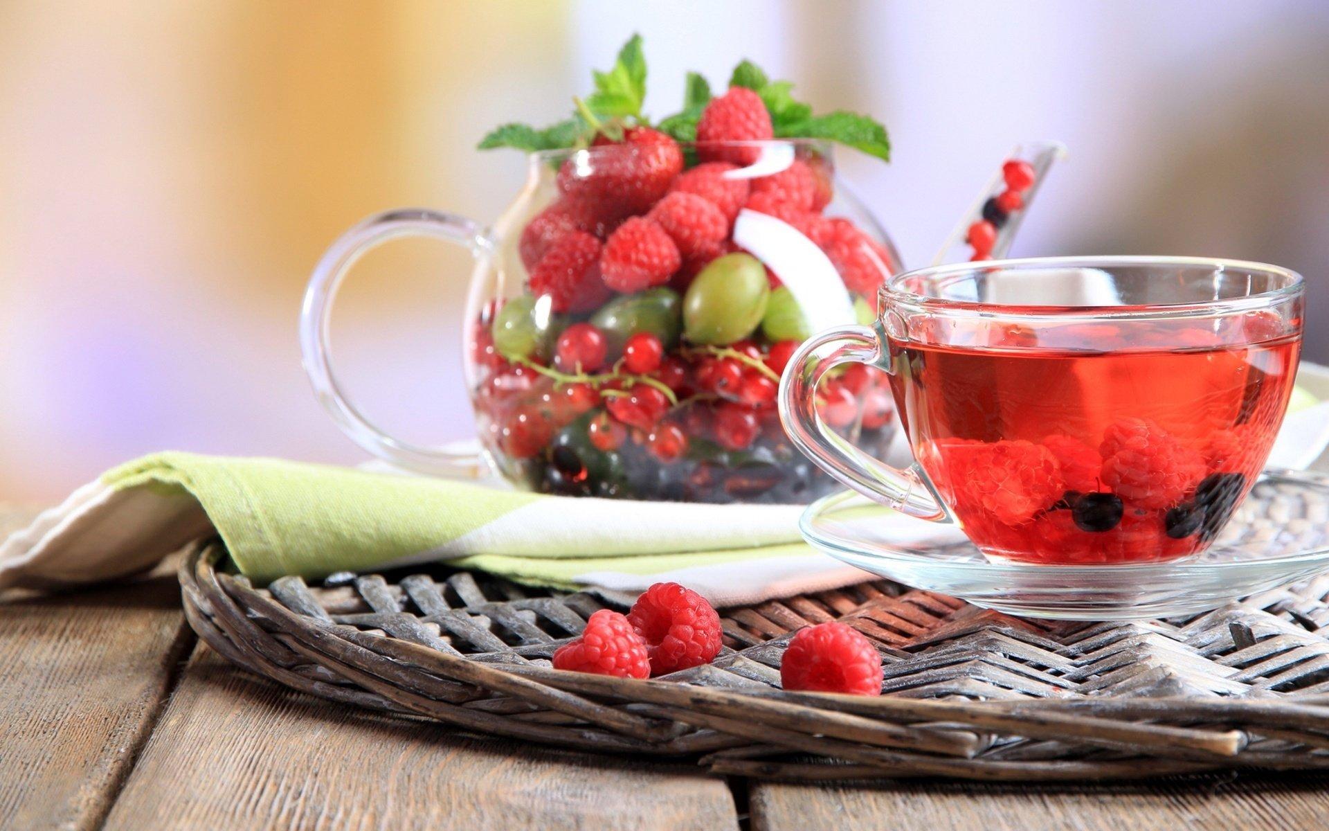 еда чай малина food tea raspberry  № 1100772  скачать