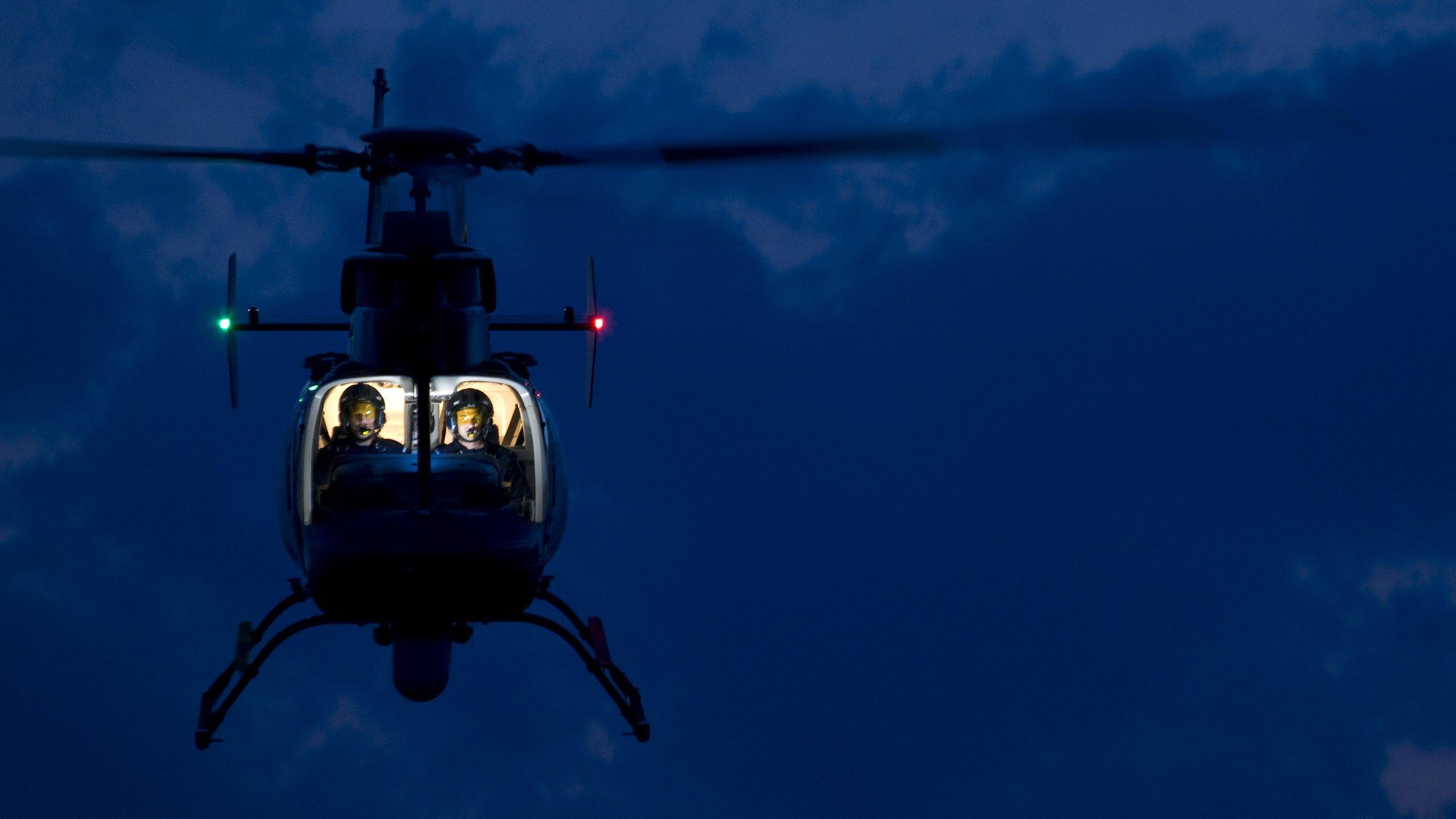 вертолет ночью фото случаи