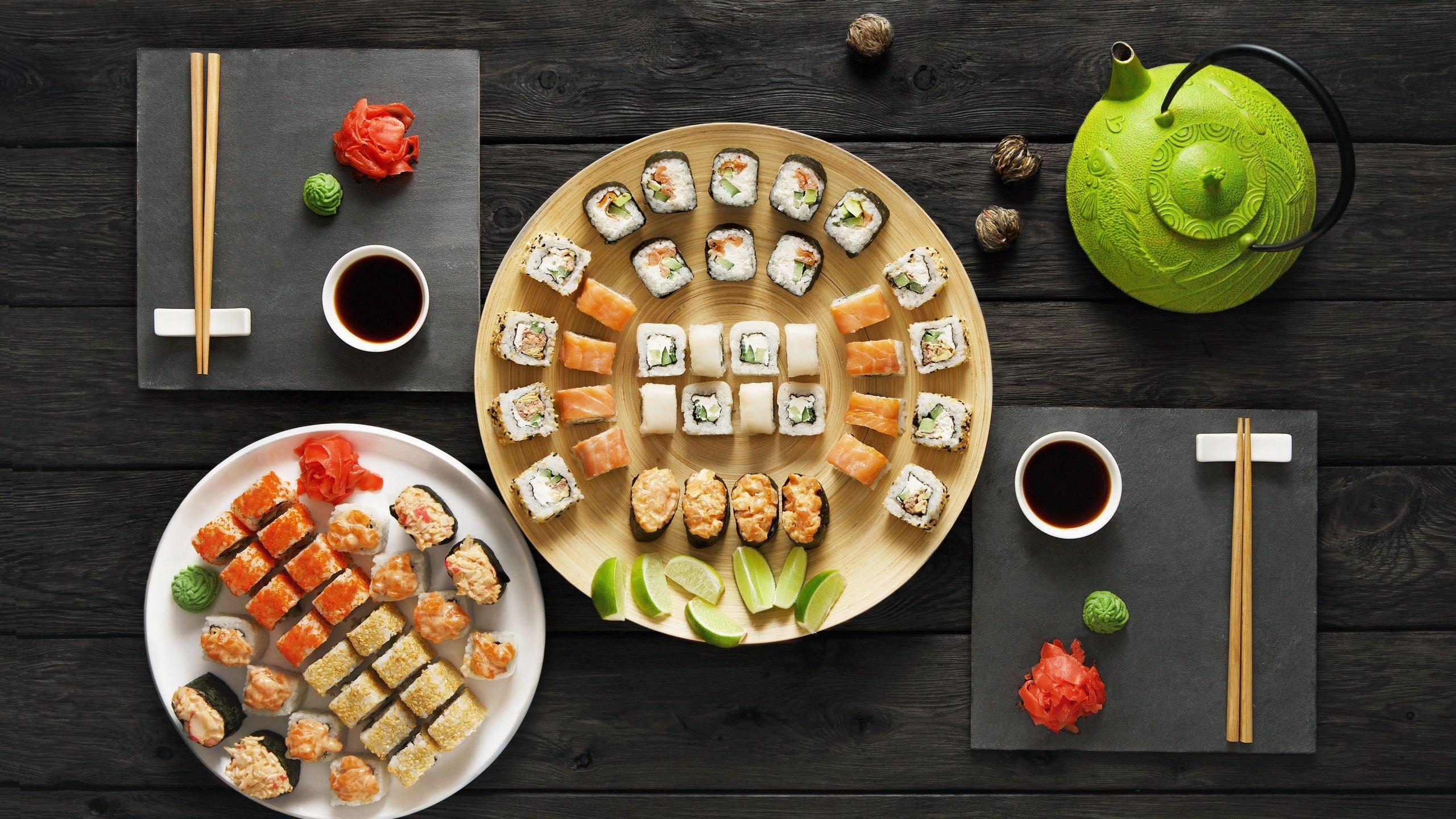еда суши роллы вассаби япония скачать