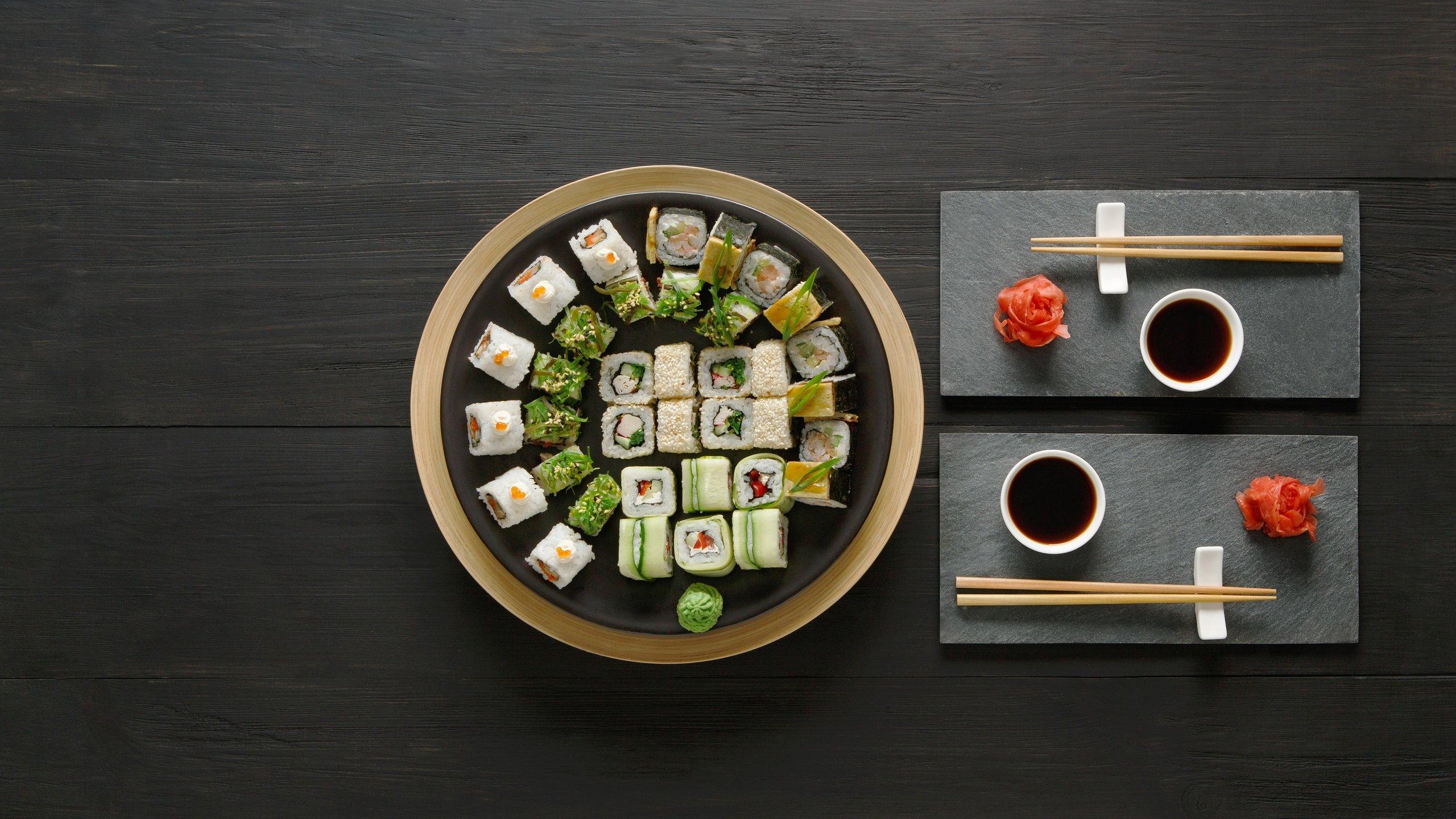 еда роллы васаби имбирь food rolls wasabi ginger загрузить