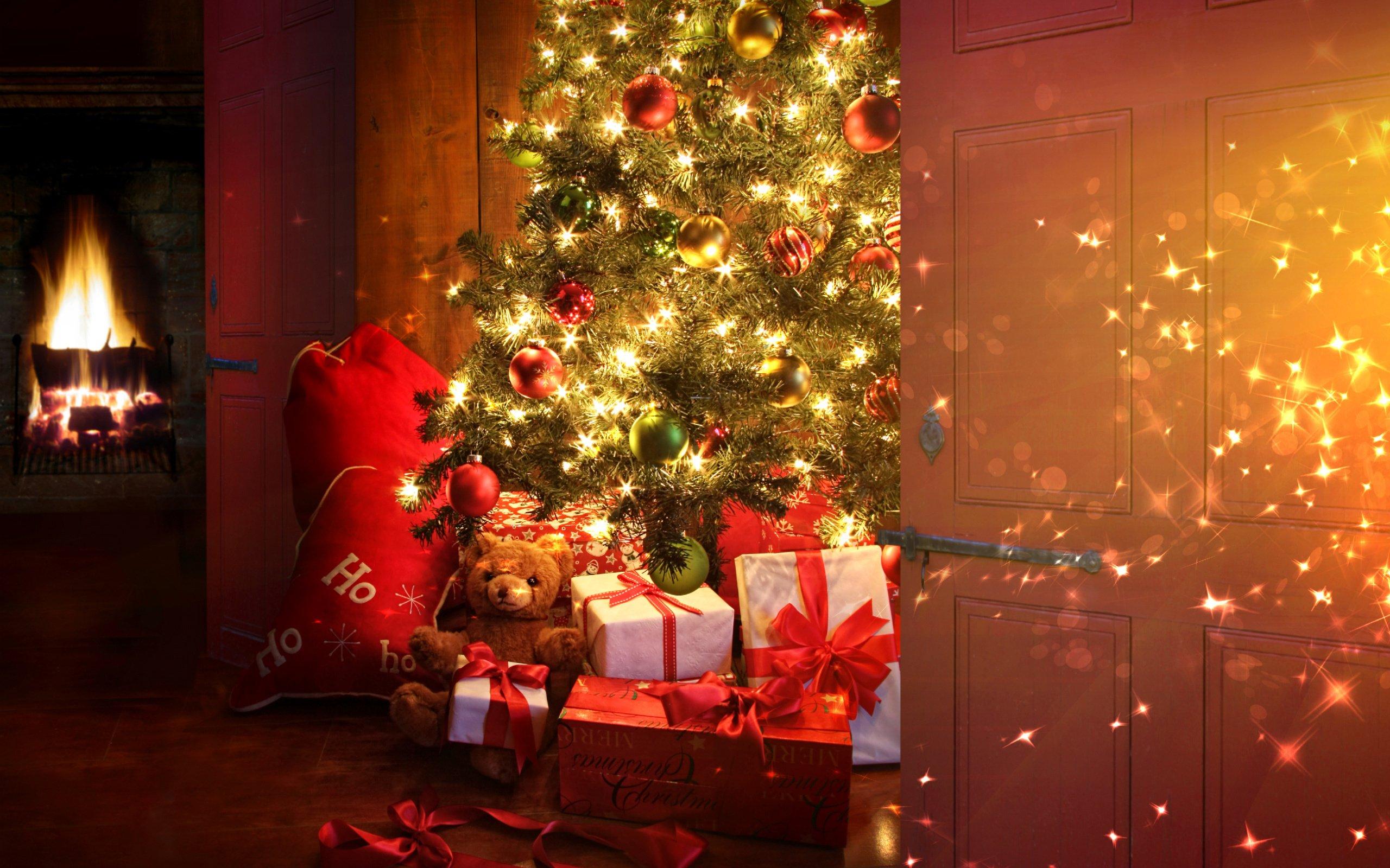 Новый год картинки с елкой, аист