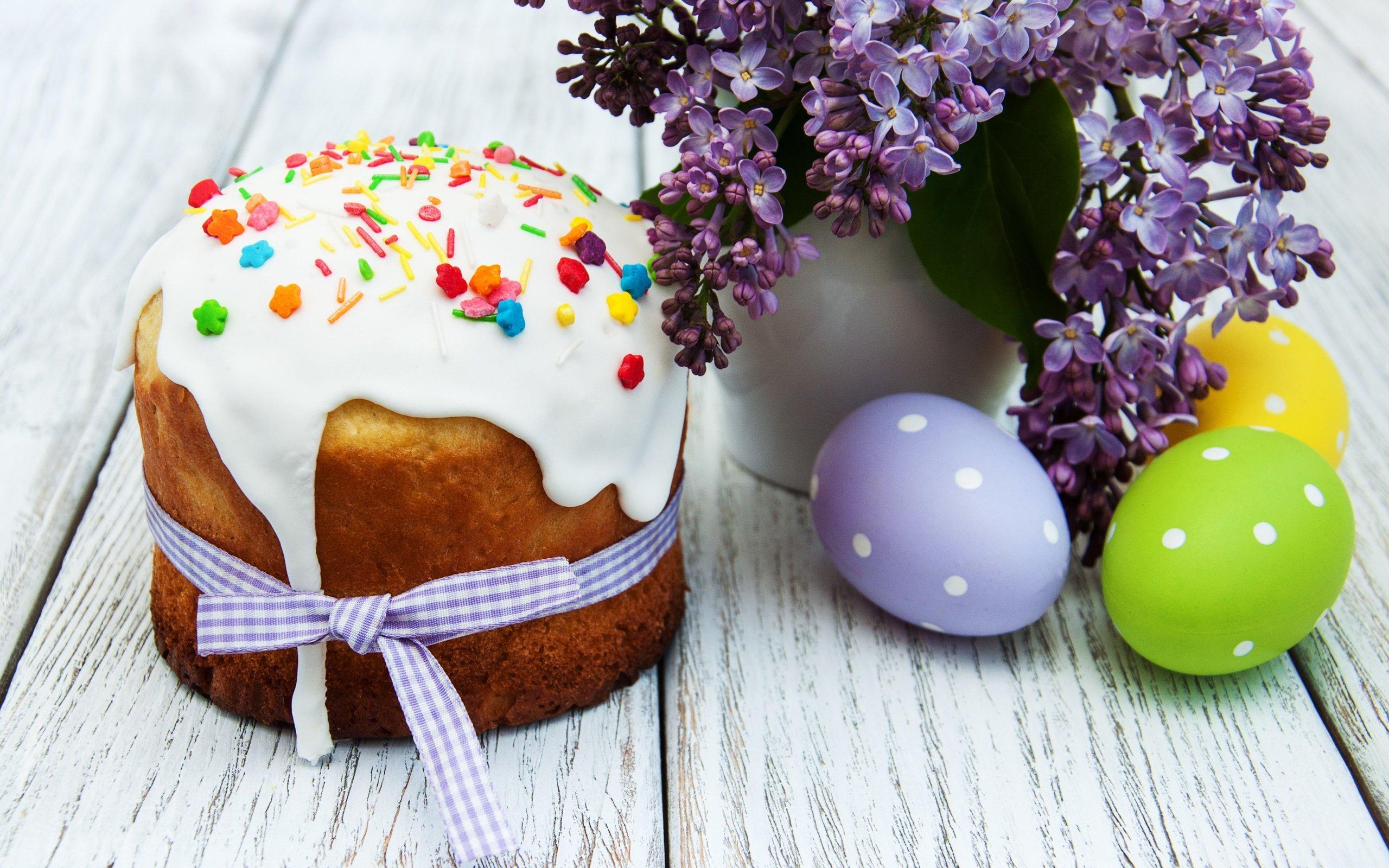 праздник пасха кулич яйца  № 2646767  скачать