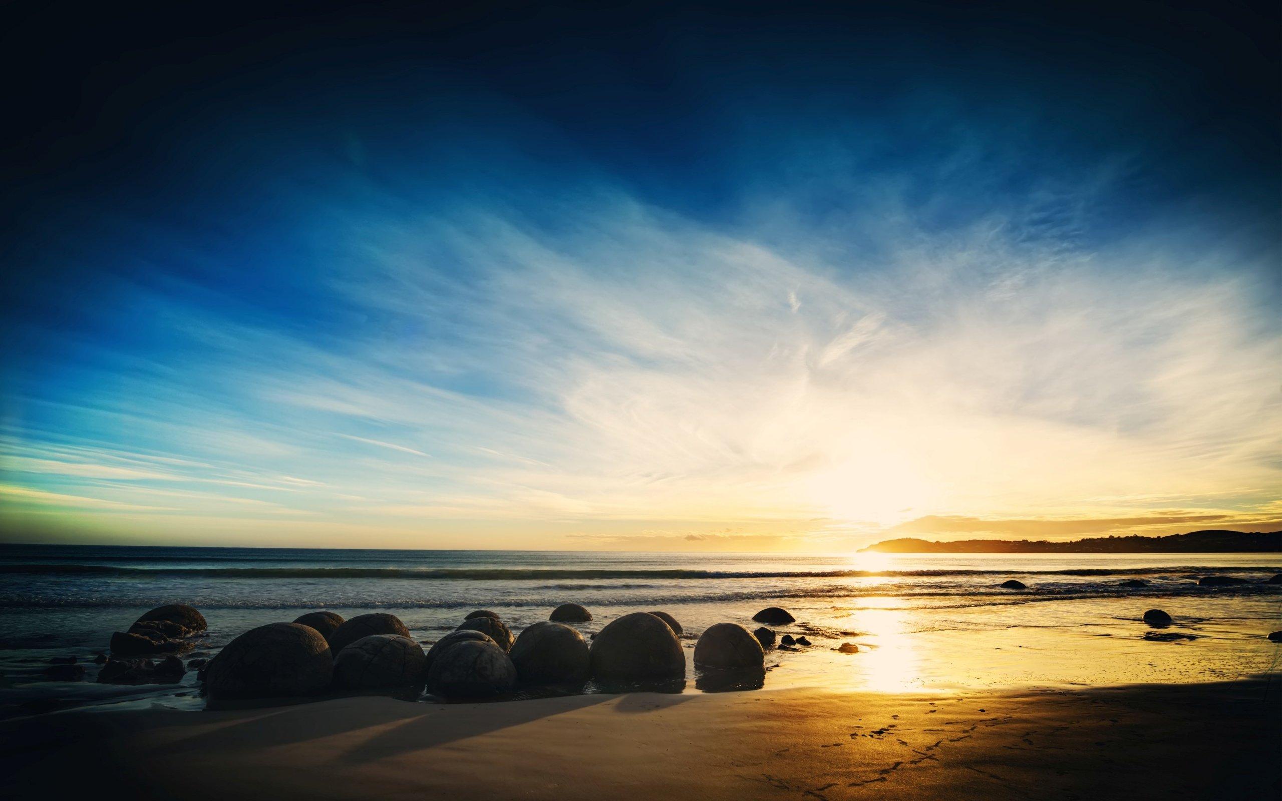 природа море берег небо горизонт  № 3776902 бесплатно