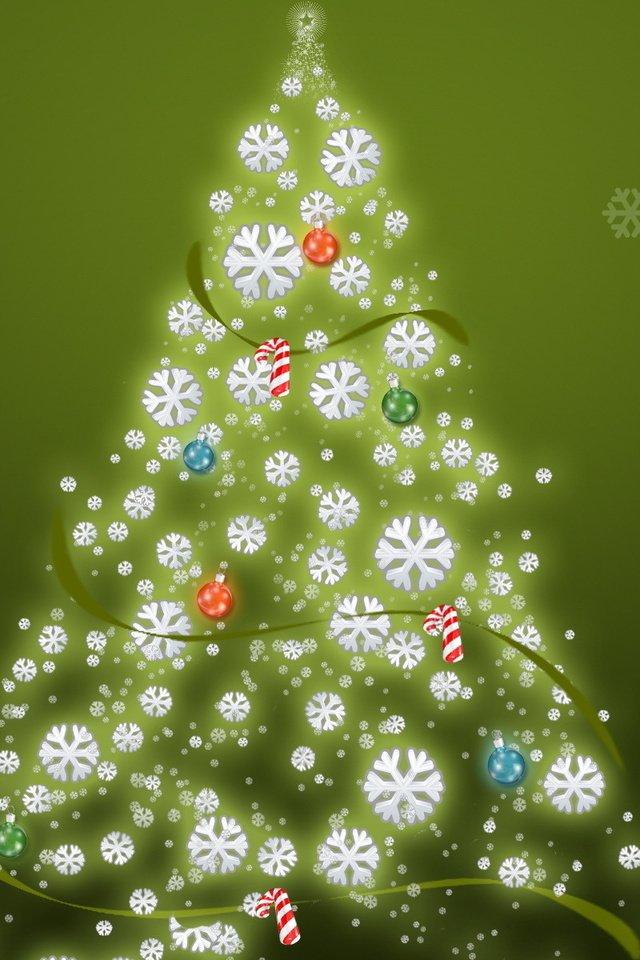 Картинки новый год зима красивые на телефон мобильный, отец