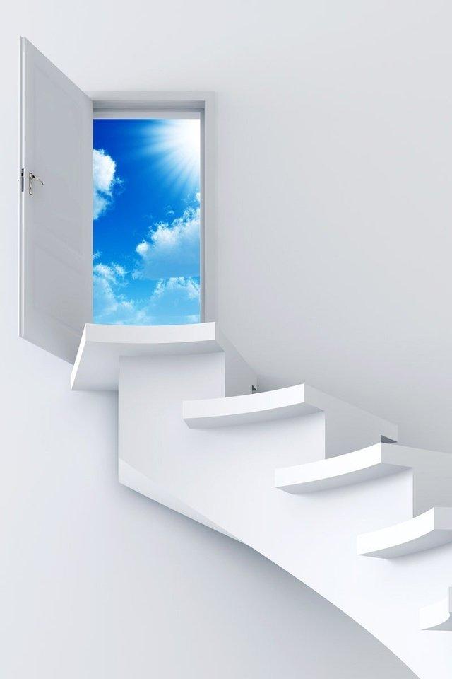 картинки небо двери идет планомерная работа