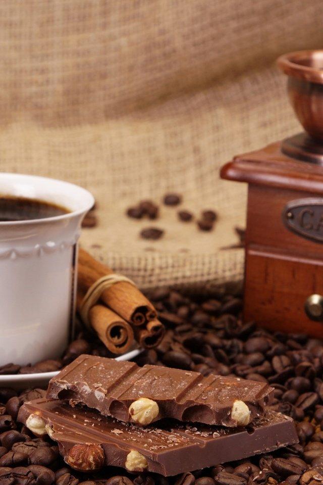 простая фото чашка кофе и шоколад эти удивительные бесплатные
