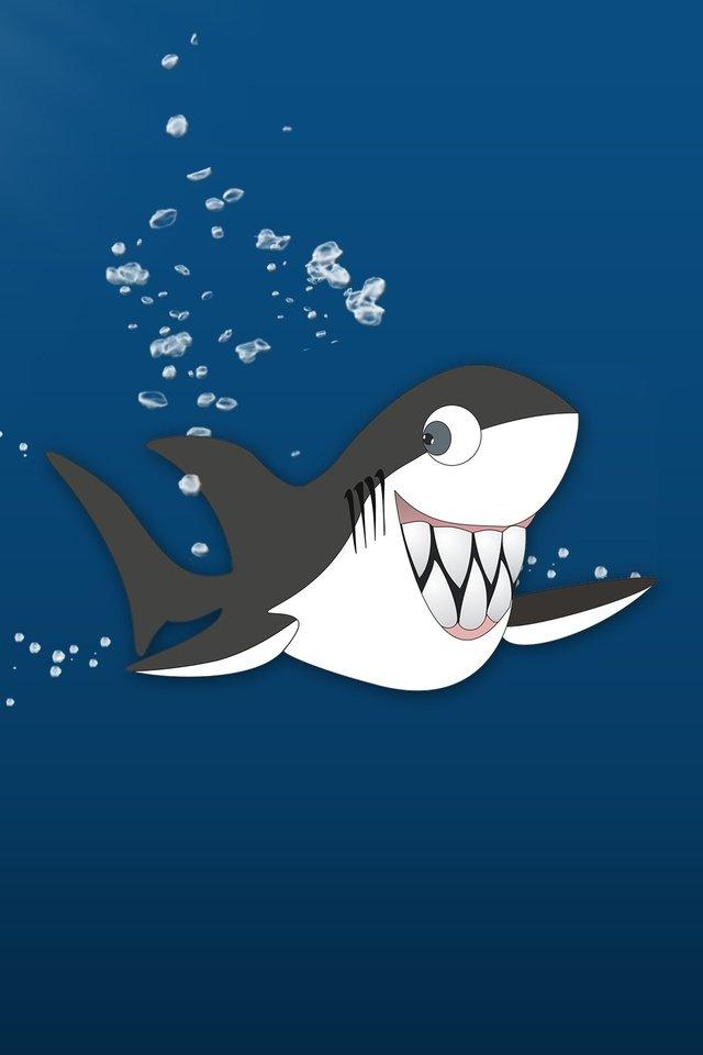 Прикольные, картинка прикол акула