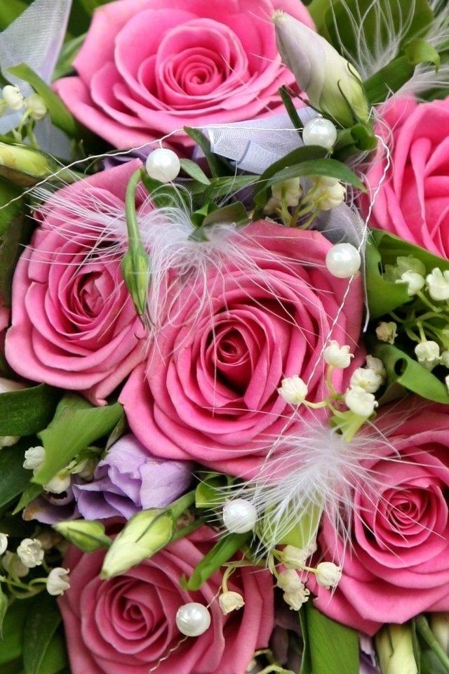 Красивый букет роз картинки вертикальные