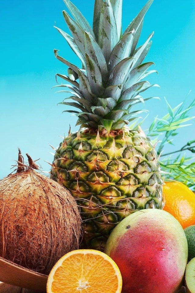 бани, яркие летние картинки ананас может быть