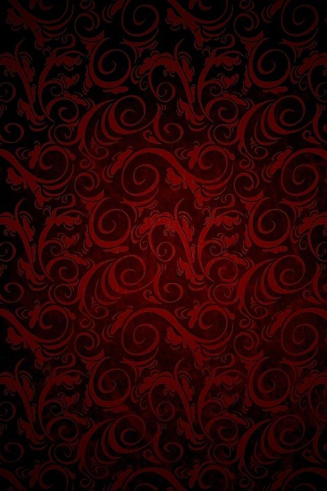 бордовый узор картинка коржики для