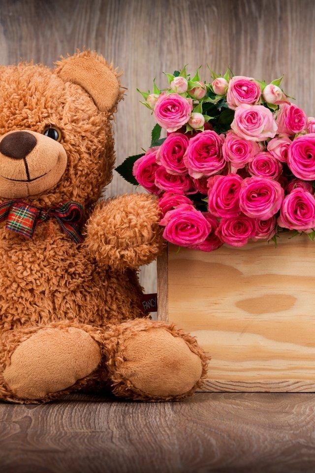 средний ребенок фото плюшевых мишек с цветами заказывать пендосии