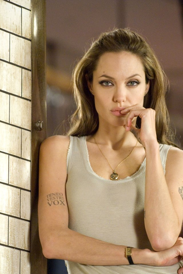Angelina jolie tattoo naked, barefoot naked amateur women