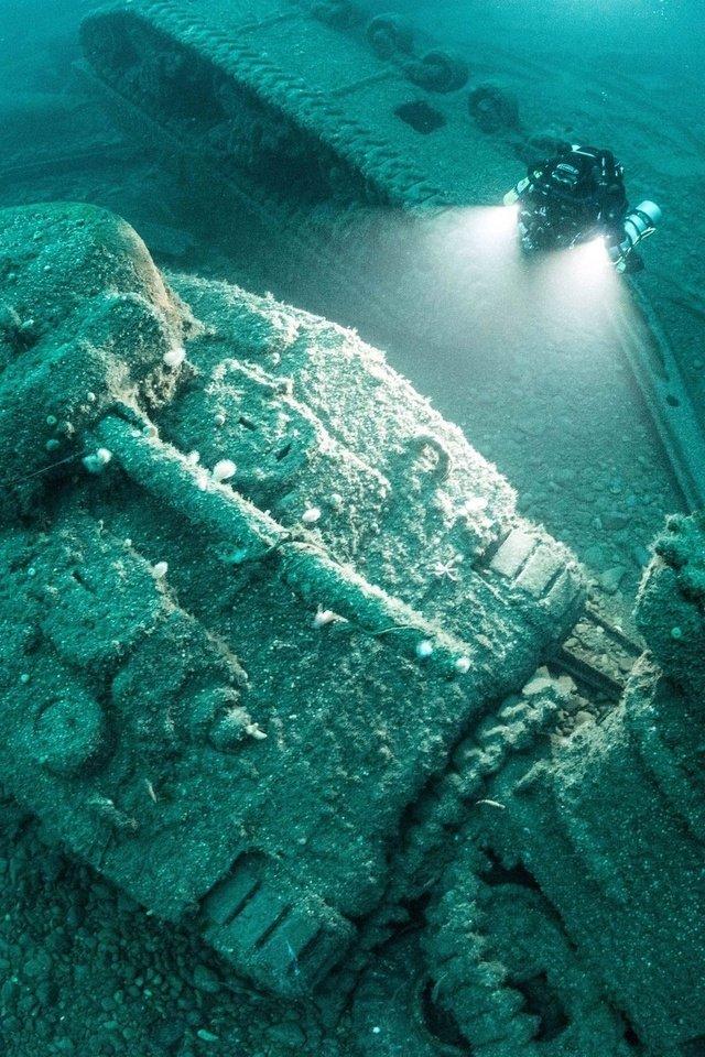 для индианаполис фото затонувшего корабля что сегодня