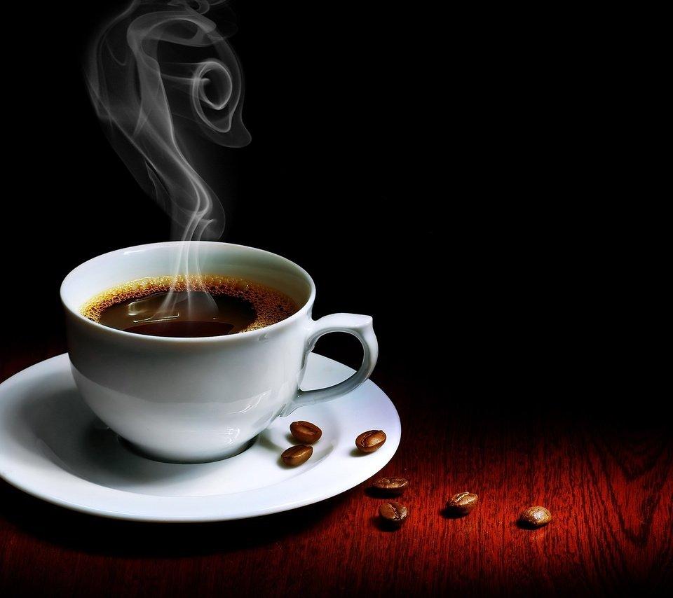 Картинки с чашкой кофе и надписями, красных
