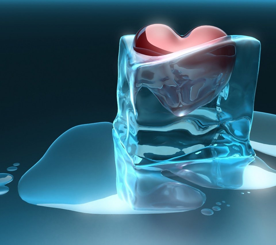 Heart water ice cube love valentines day stock photo getty images
