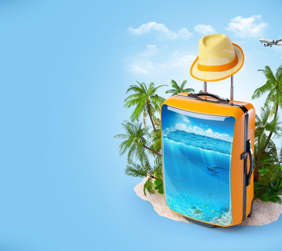 Картинки отдых чемодан