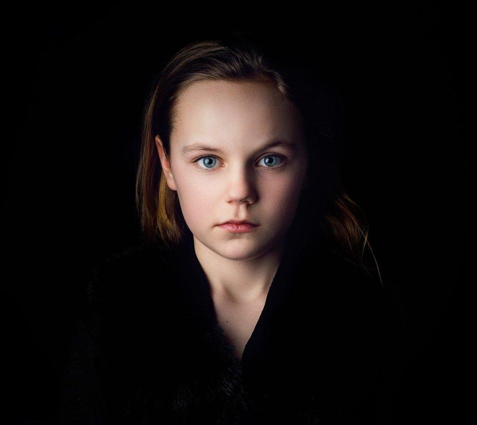 Обои Девочка, child, портрет. Разное foto 12