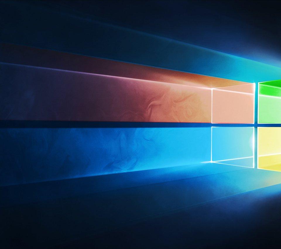 Обои виндовс, hi-tech, windows, 10, microsoft, логотип, майкрософт. Windows foto 9