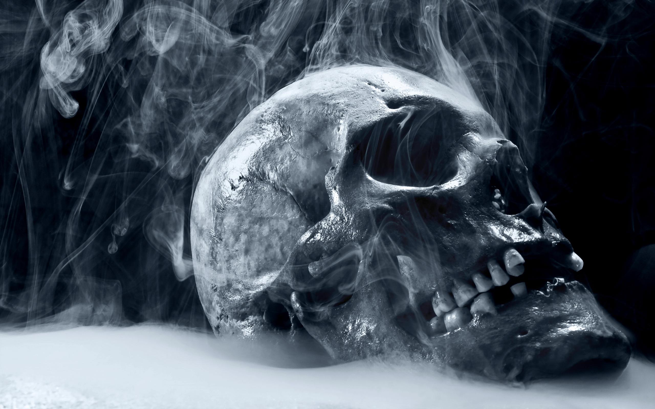 Смерть с косой из дыма  № 2320179 загрузить