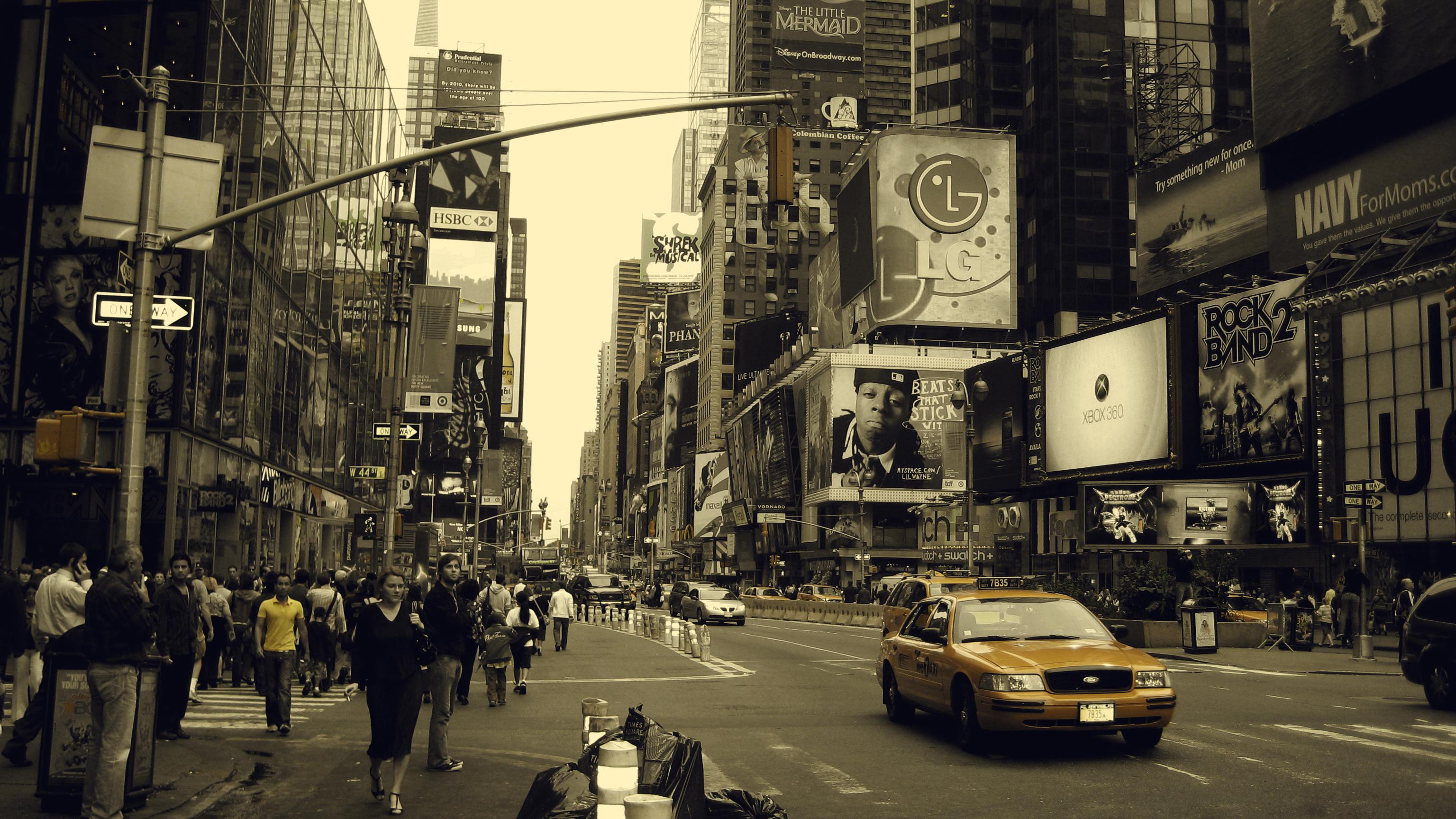 улочка в Нью-Йорке  № 1431597 бесплатно