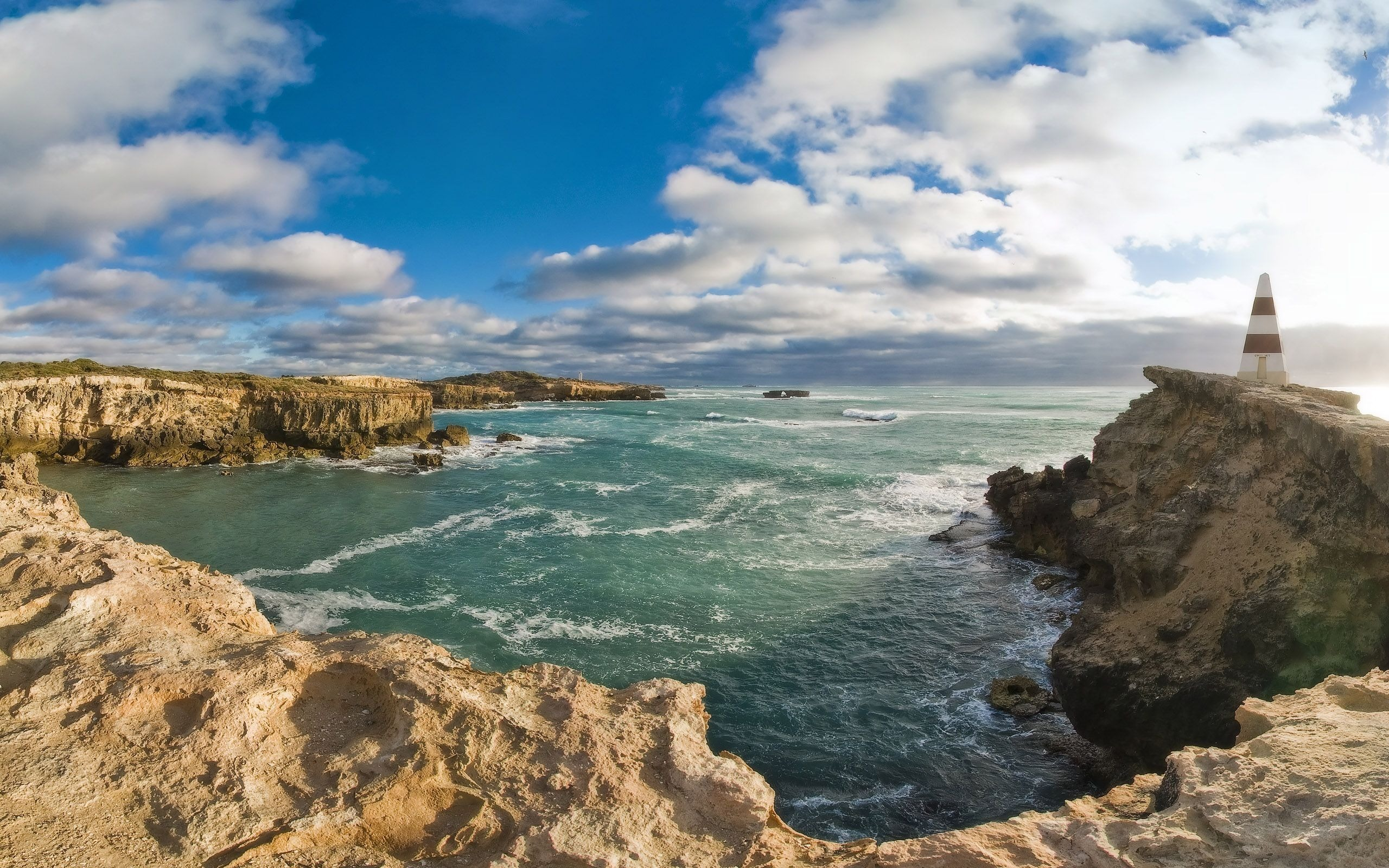 природа маяк море скалы  № 2238475 без смс