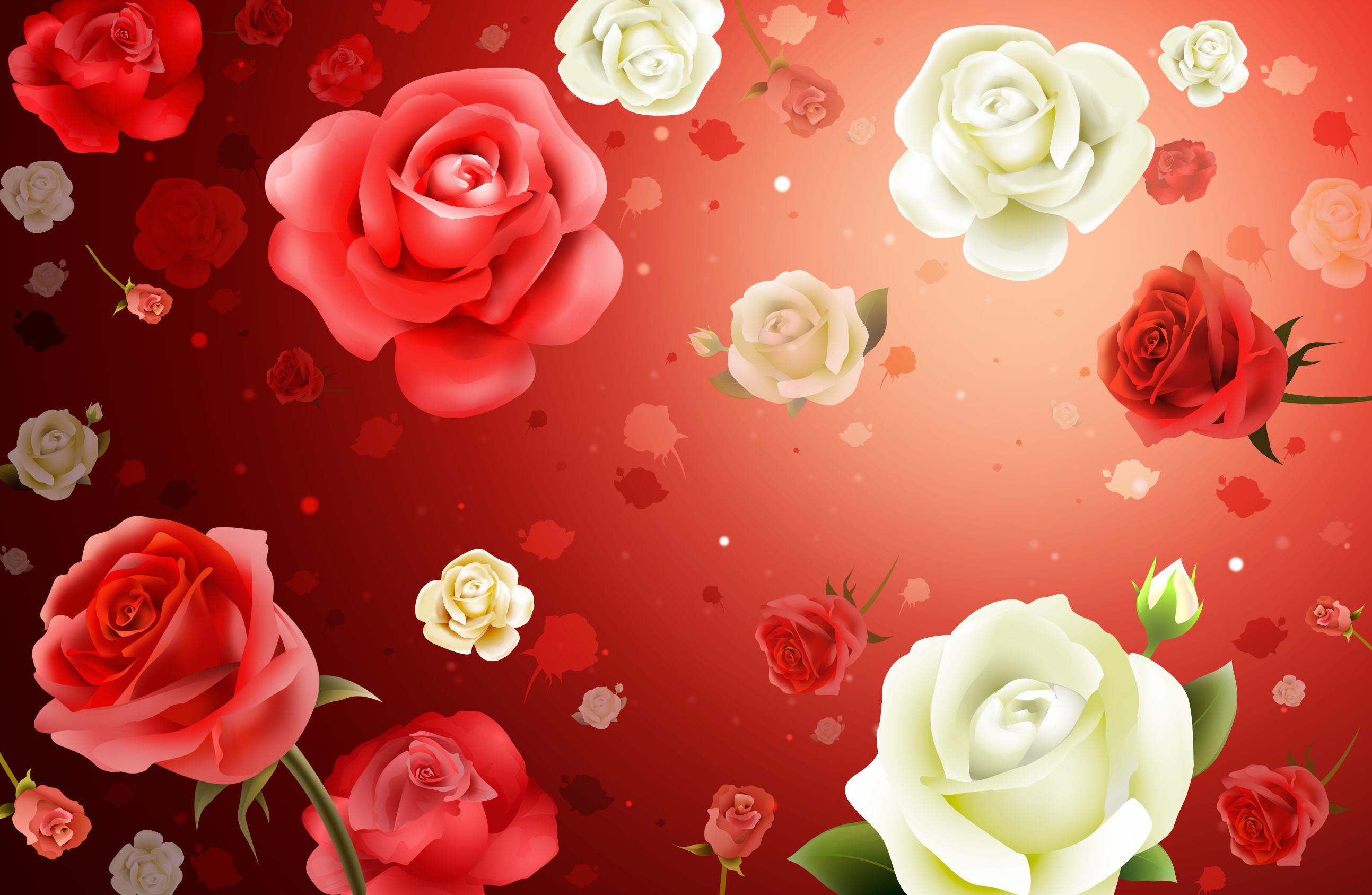 графика космос цветы роза graphics space flowers rose  № 927112 загрузить