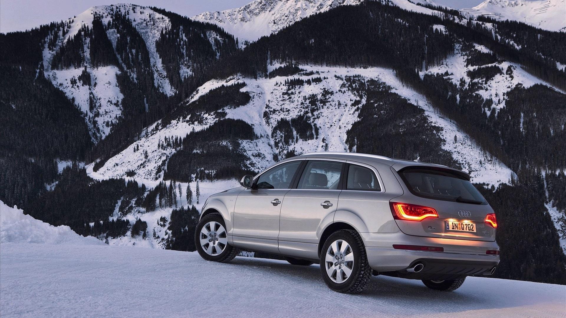 Audi Q7 в пустыне бесплатно
