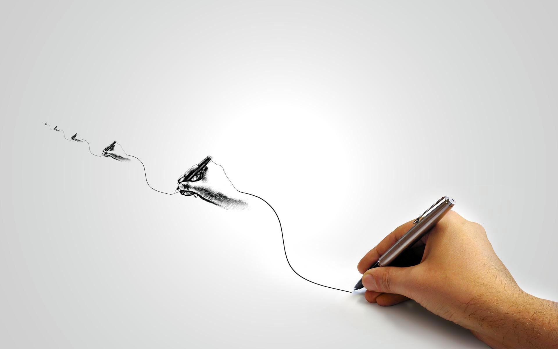 Нарисовать обои своими руками