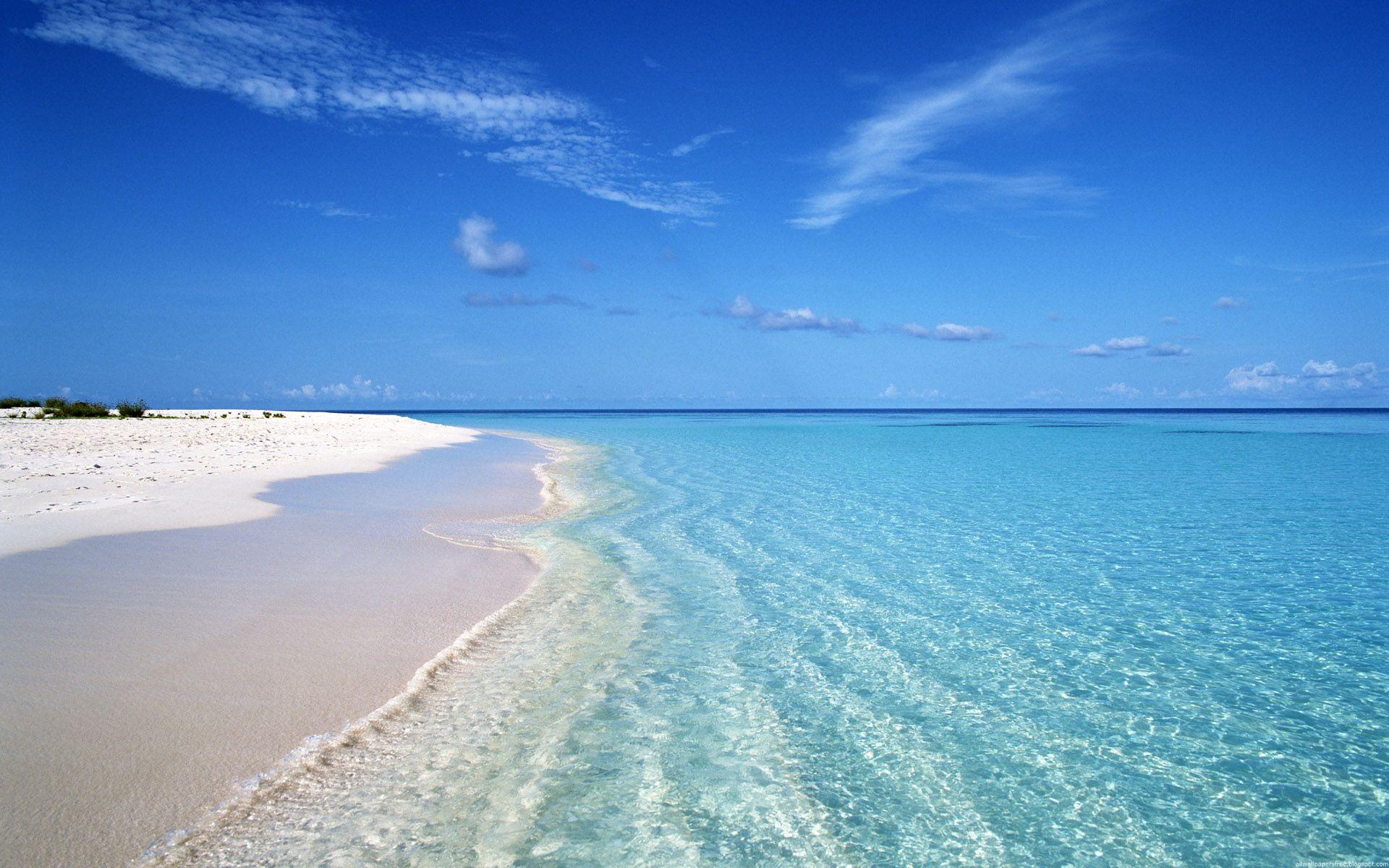 природа небо море берег скачать