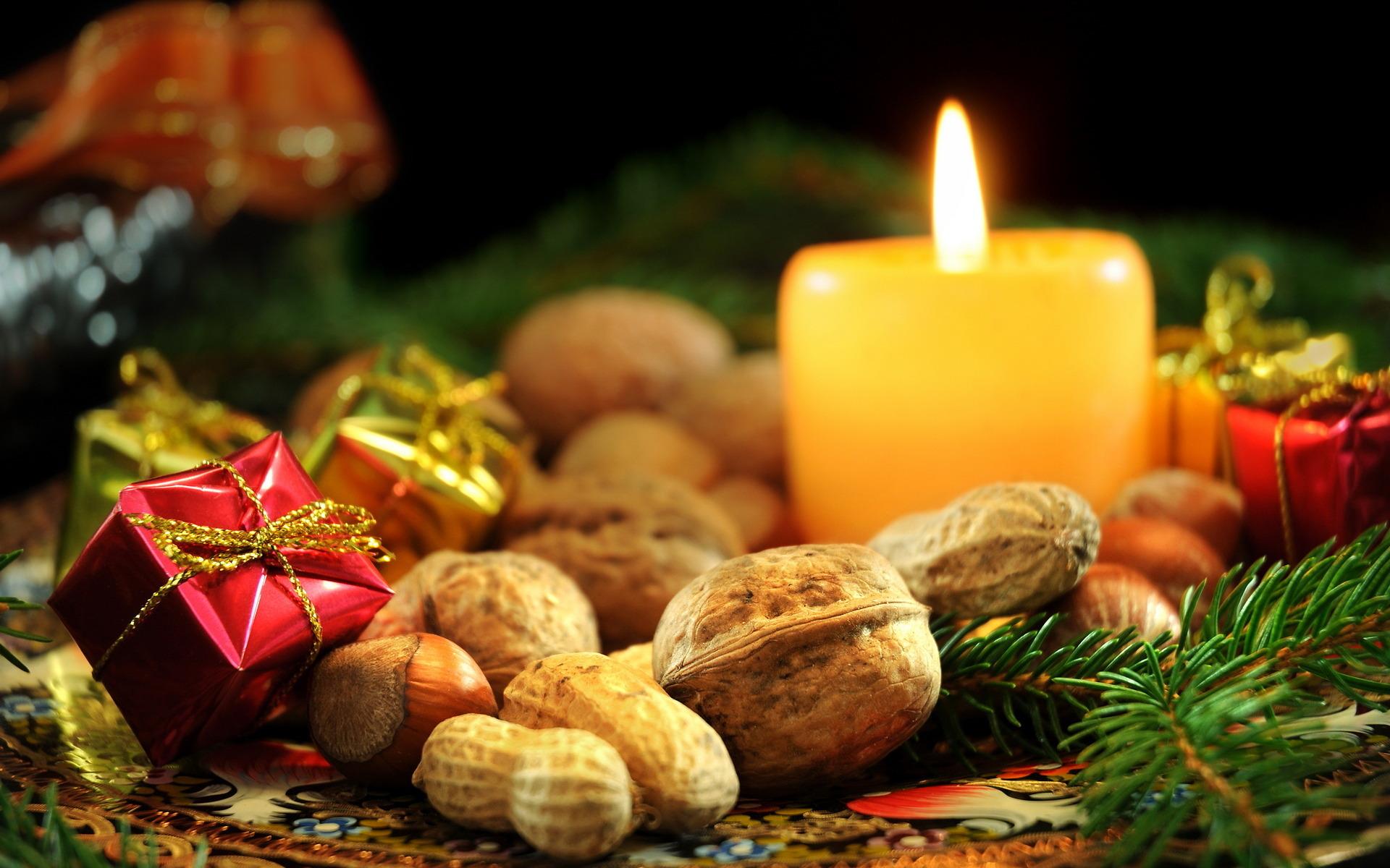 подарки новый год свечи корзинка gifts new year candles basket скачать