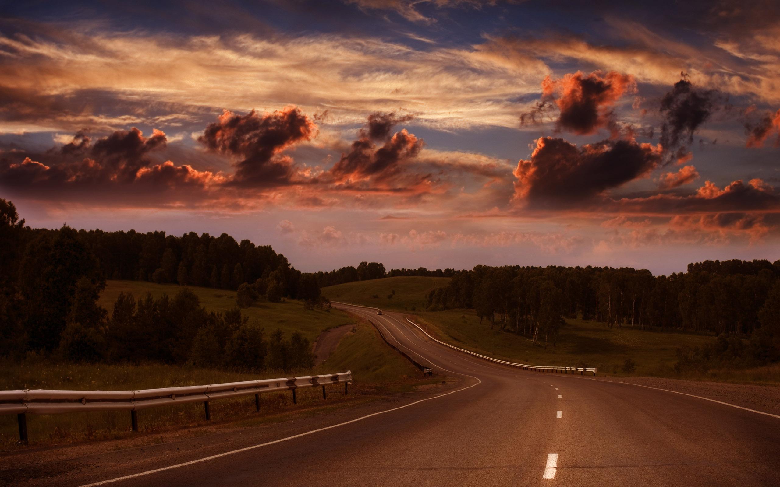 дорога горизонт даль горы  № 3816643 без смс