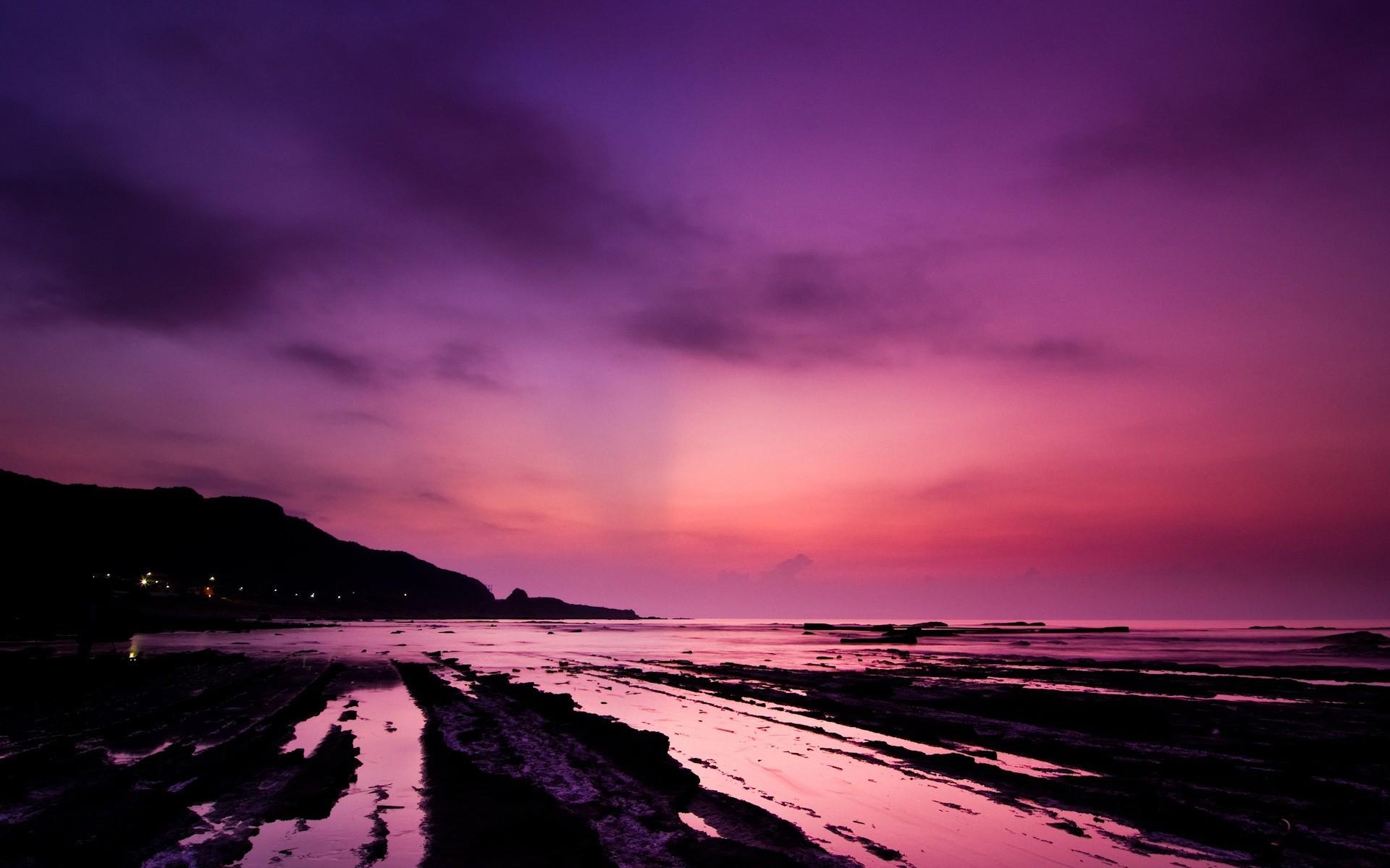 Розовый рассвет скачать