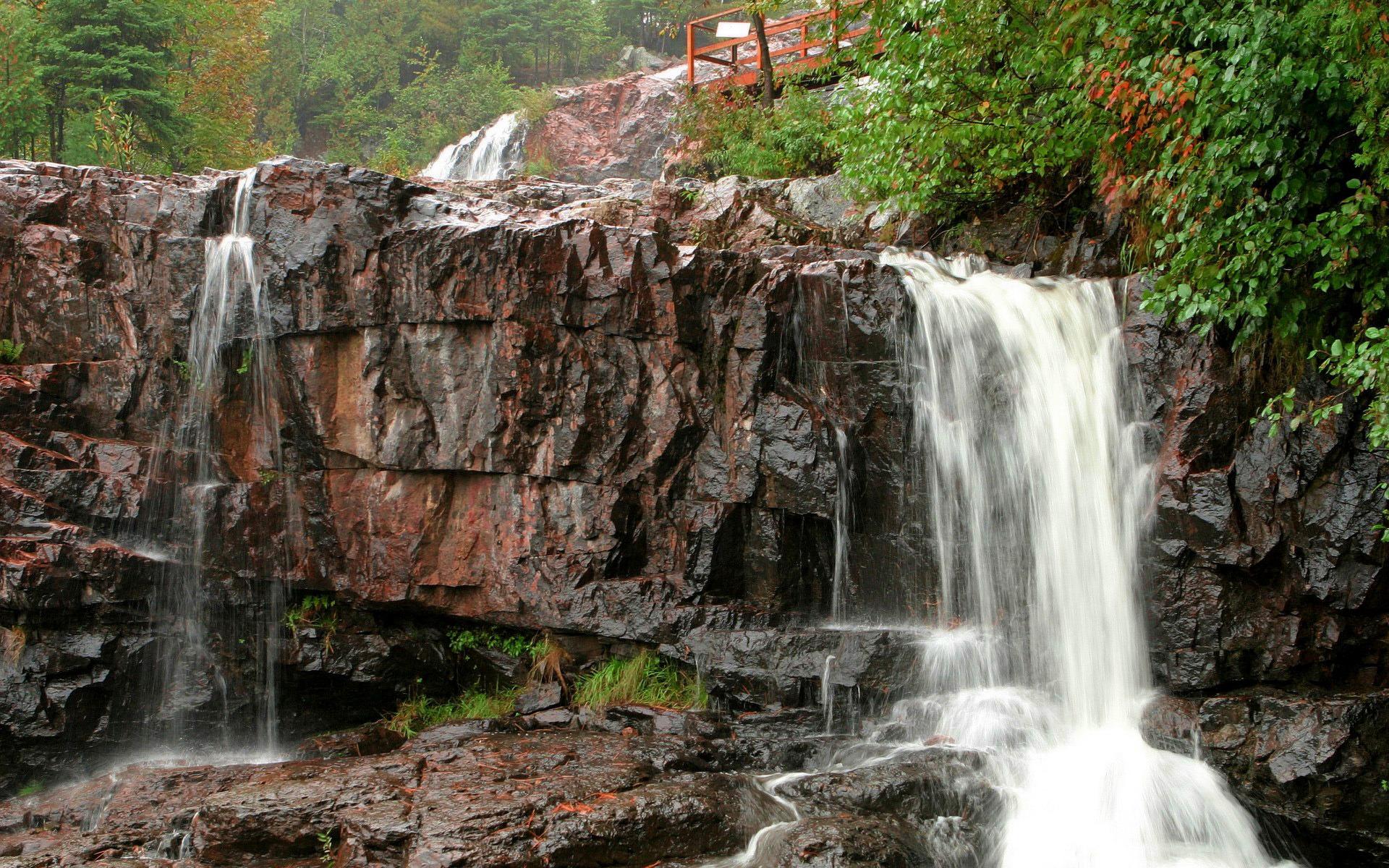 водопад скала загрузить