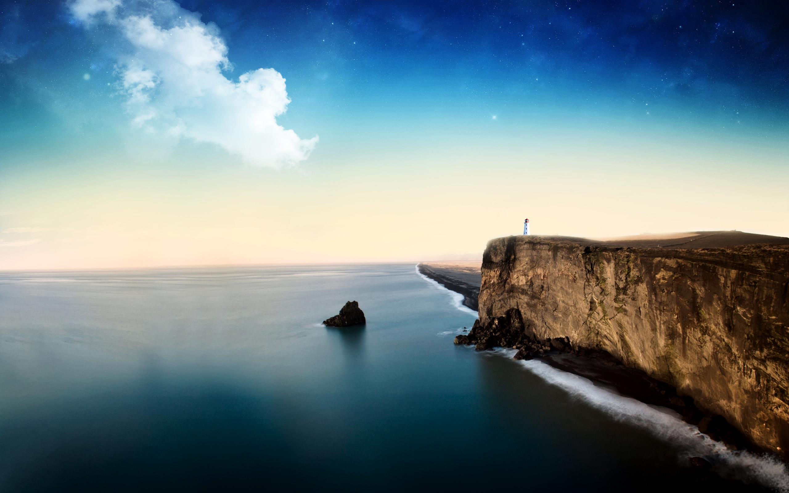 Скалы море природа без смс