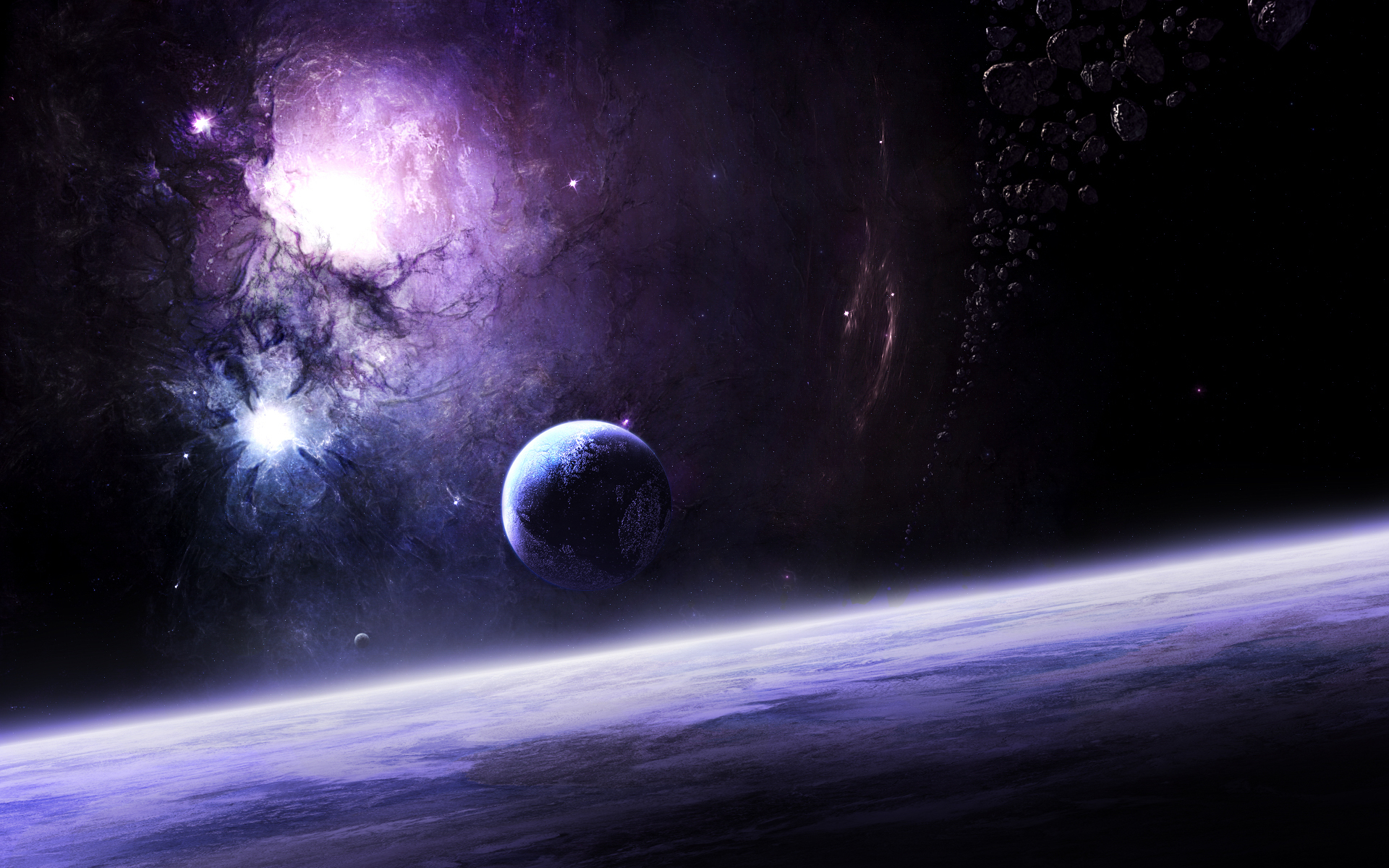 planets and stars - HD1920×1200