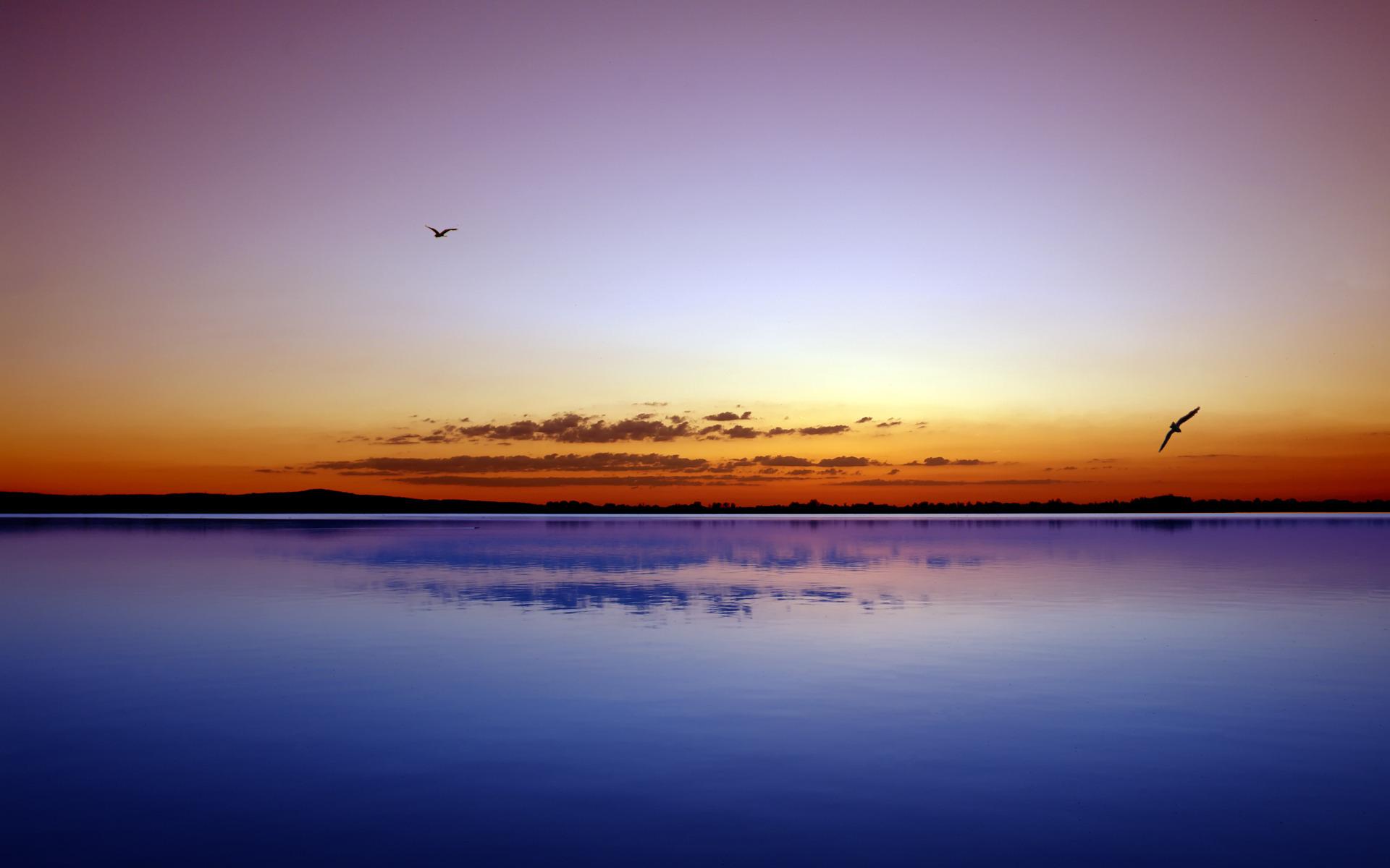Вечер над водой бесплатно