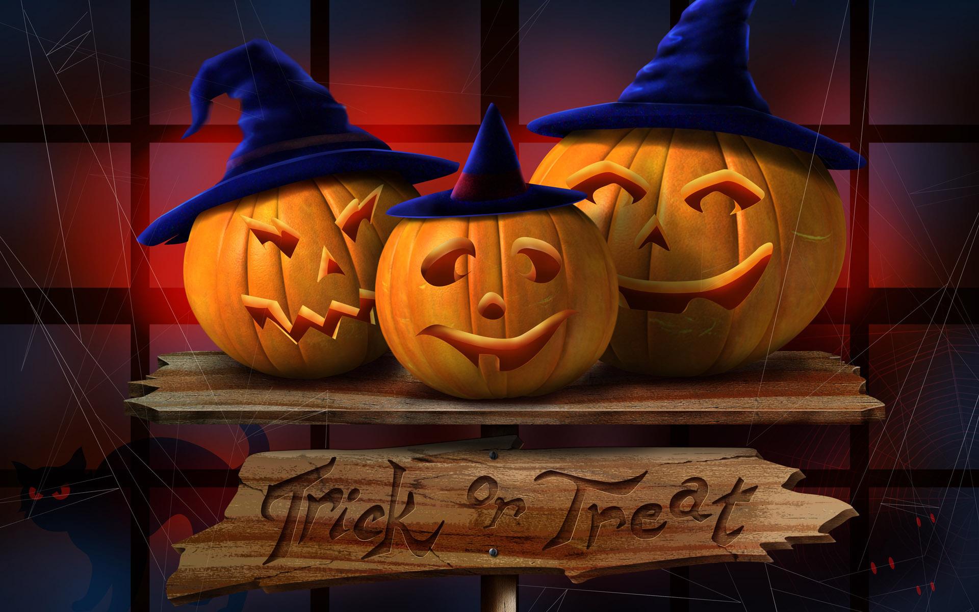 Красивые картинки хэллоуин, днем