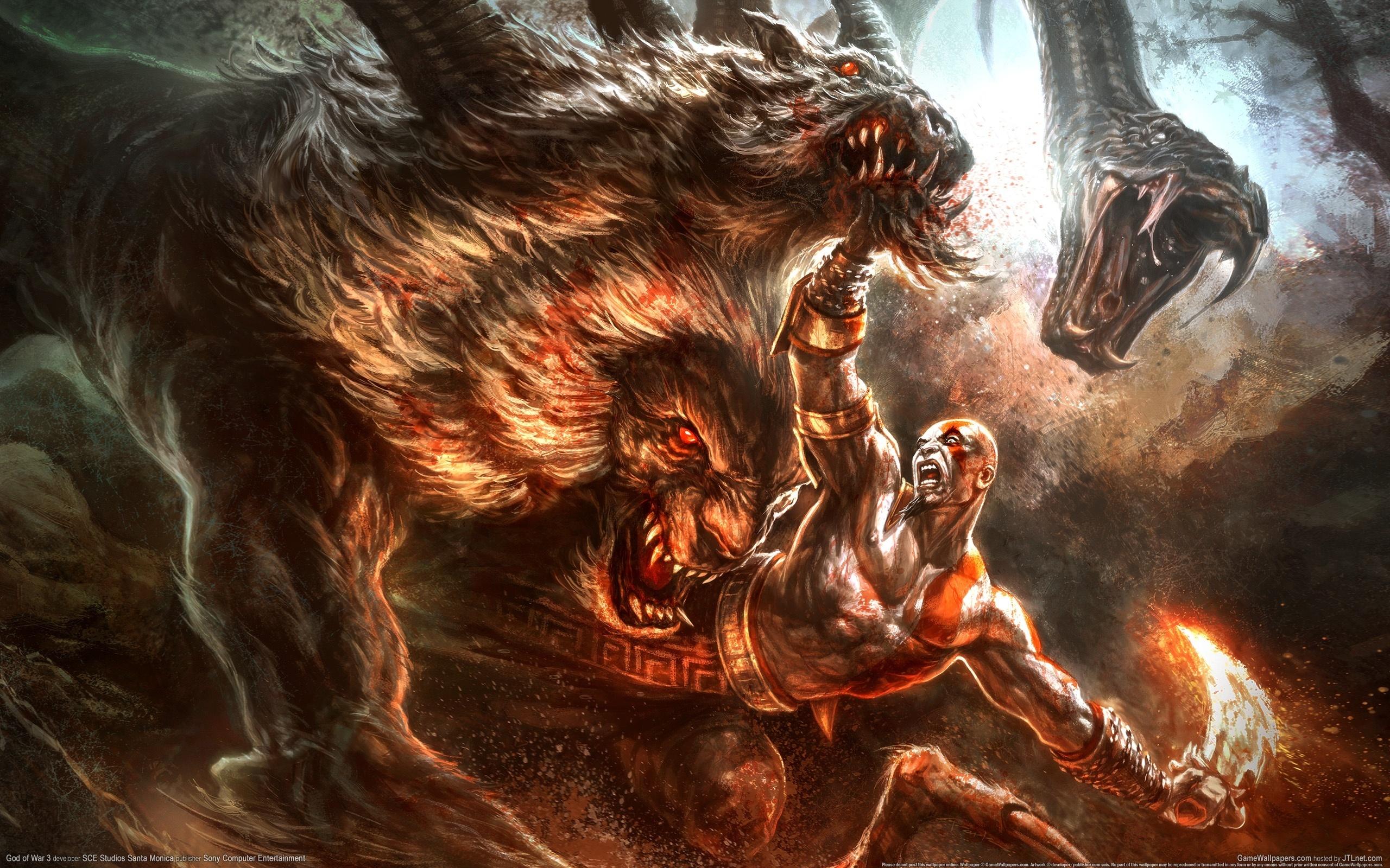 Гнев титанов, монст, Химера  № 1524067 бесплатно