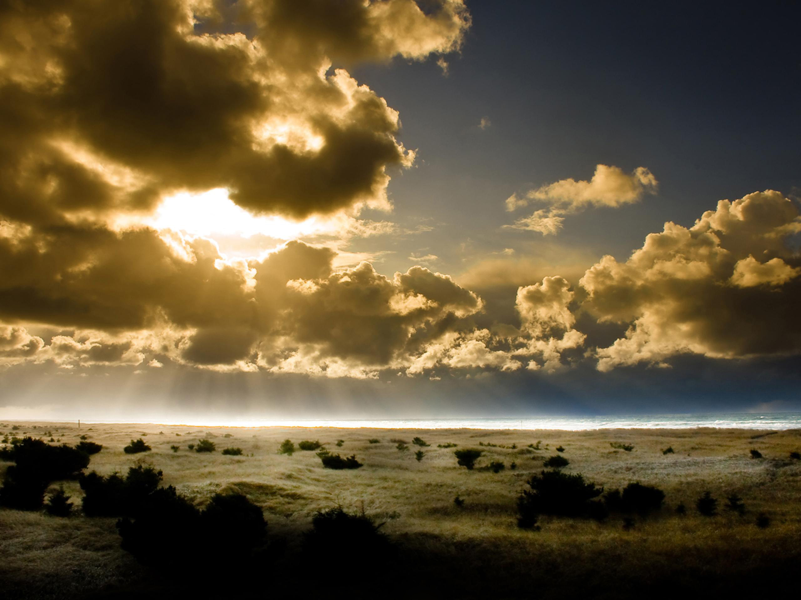 природа небо облака солнце горизонт  № 1275849 без смс