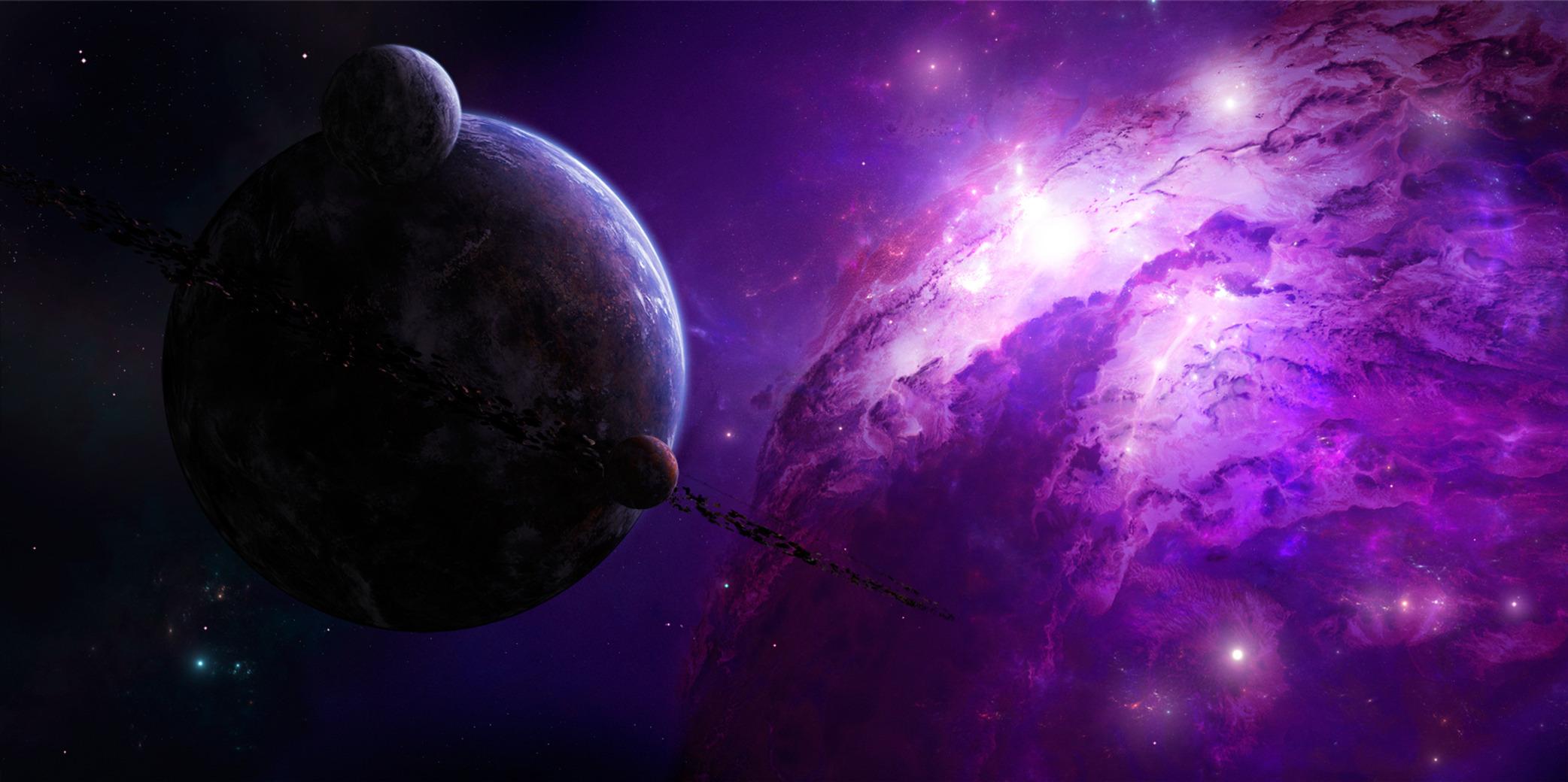 Обои планета вселенная картинки на рабочий стол на тему Космос - скачать без смс